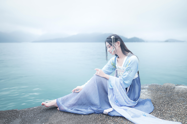 無料画像 愛 女の子 壁紙 面 アジア人 モデル 気分 空 青