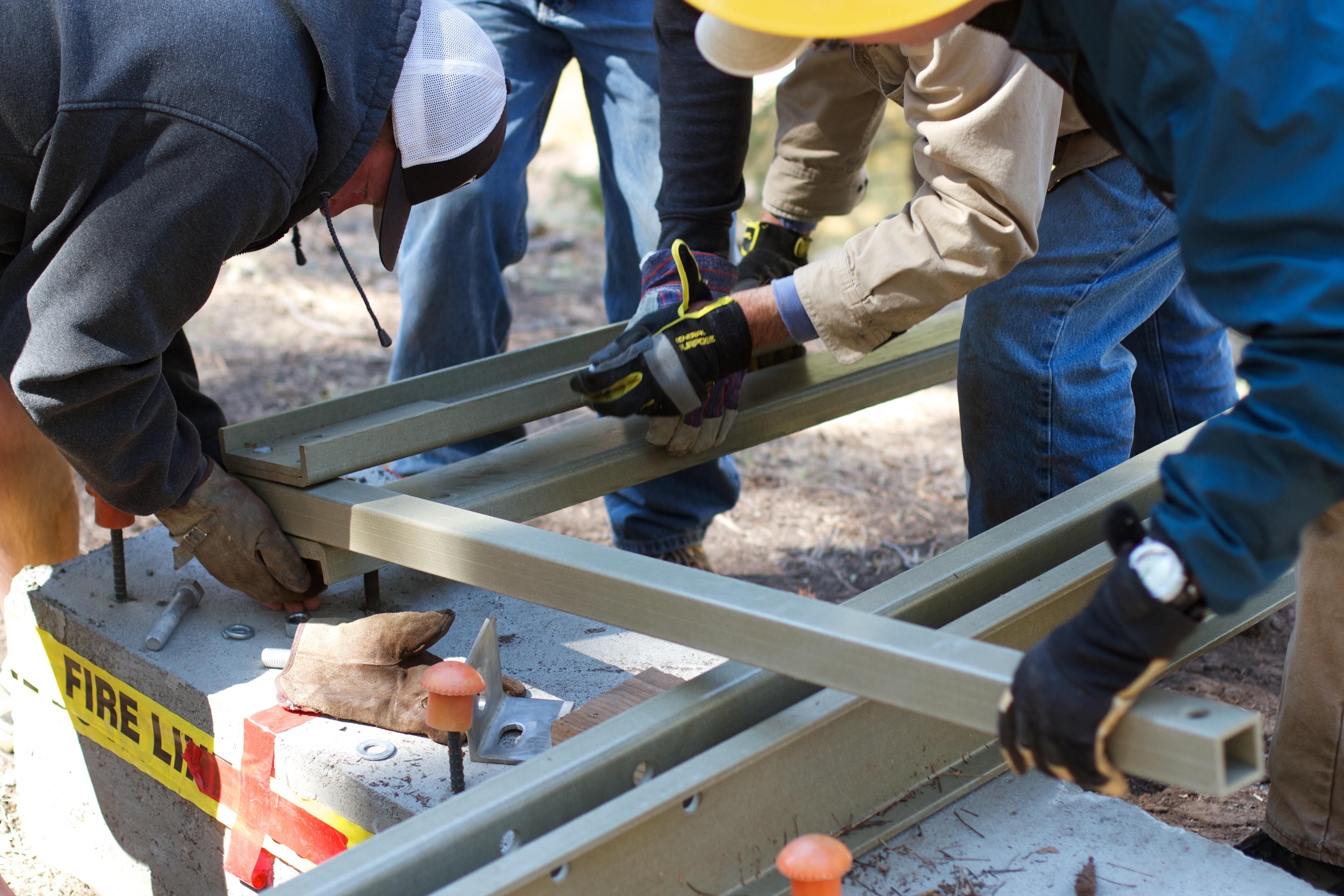 machine manufacturing pstrails laborer construction worker