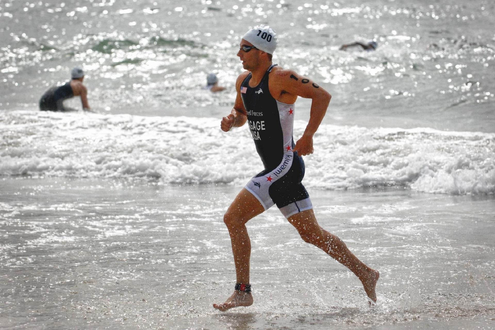 Триатлон мужчины фото