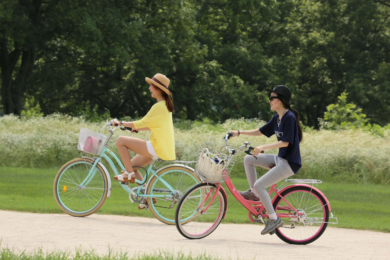 Poze Om Bicicletă Ciclist Parc Călătorie Timp Liber