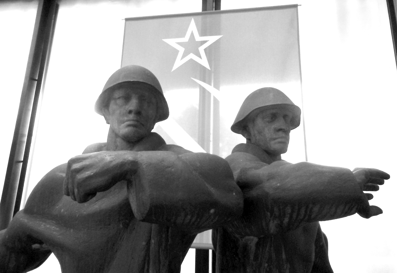 Kostenlose foto : Mann, Schwarz und weiß, Militär-, Statue, Symbol ...