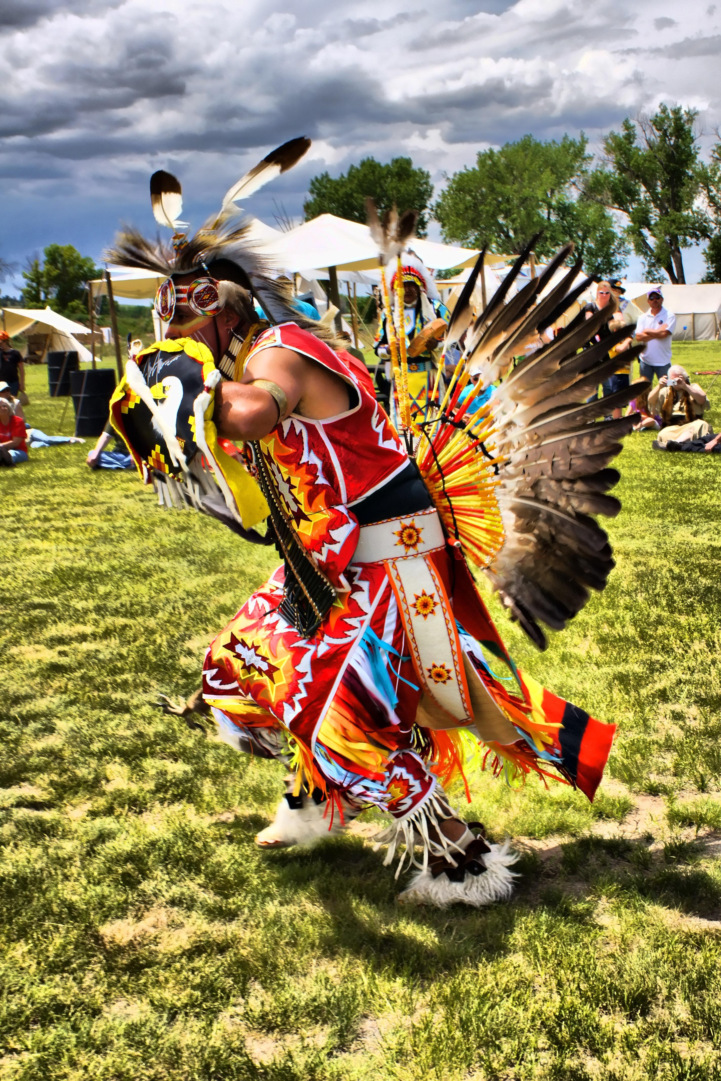Танец индейцев картинки