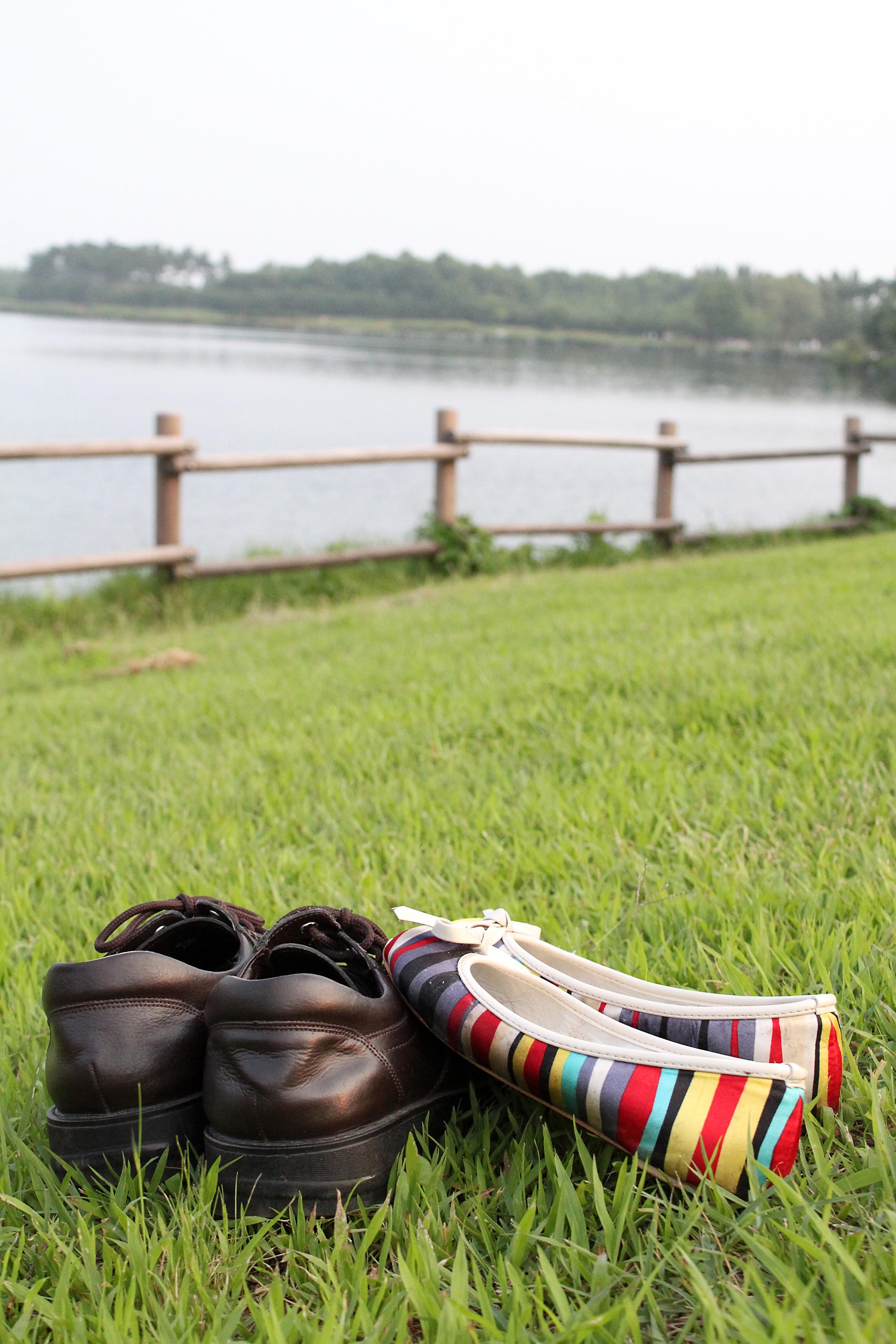 7a438c735 homem grama sapato mulher gramado casal clube de Golf sapatos calçados par  vestem acessório Sapato exterior