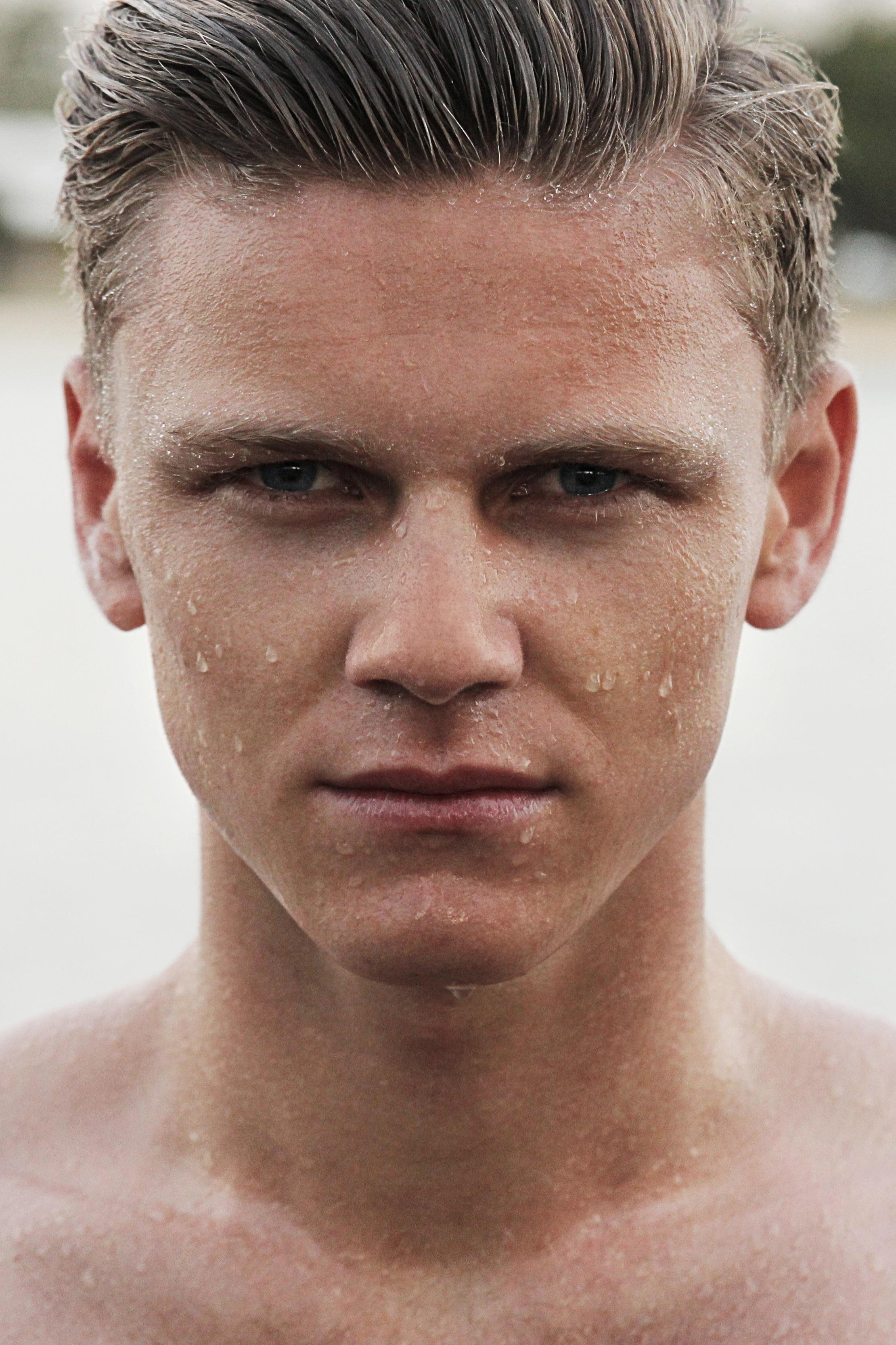 free images man boy wet looking male portrait model