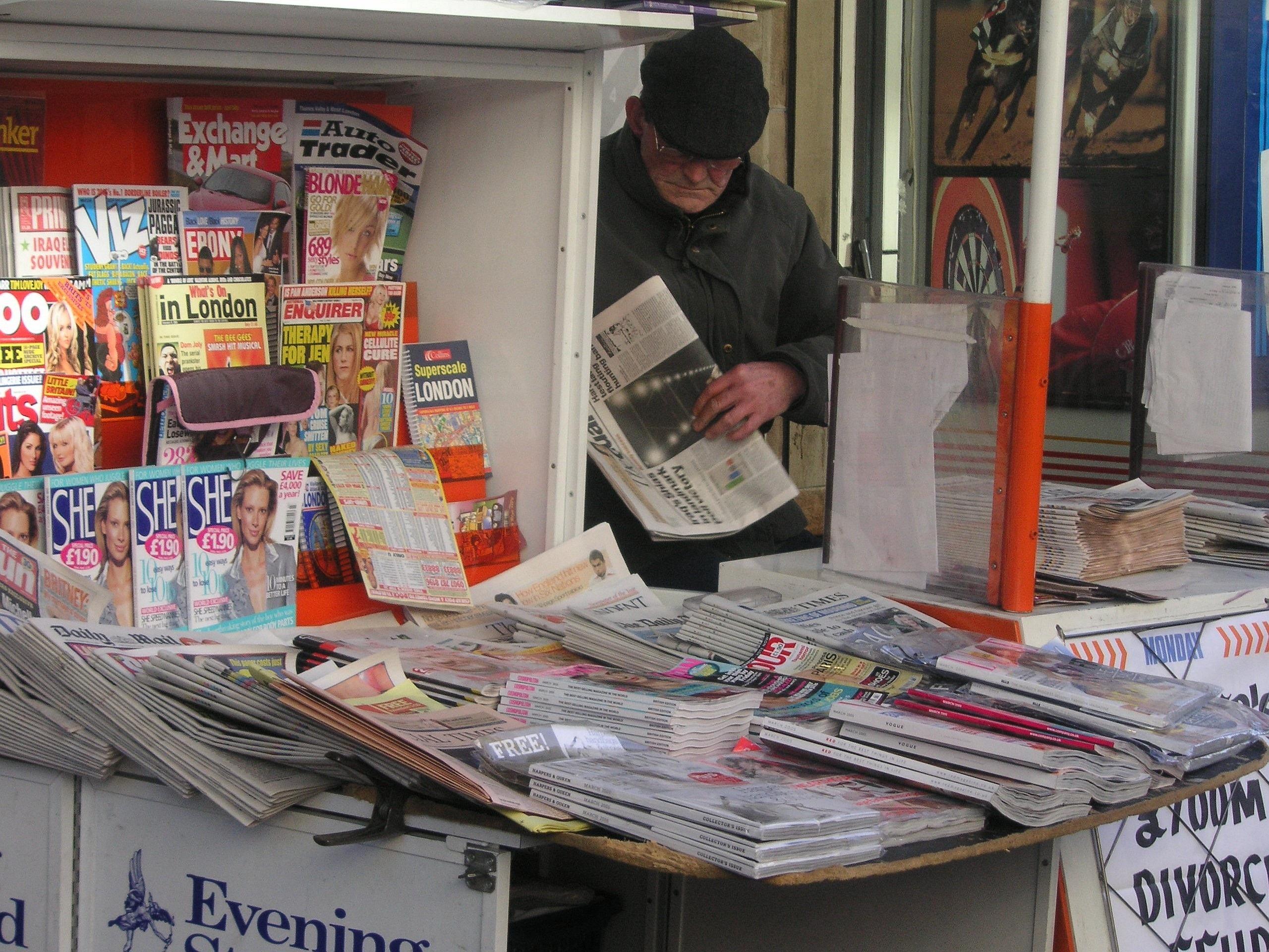 картинки для магазина журналов конструкция выполнена