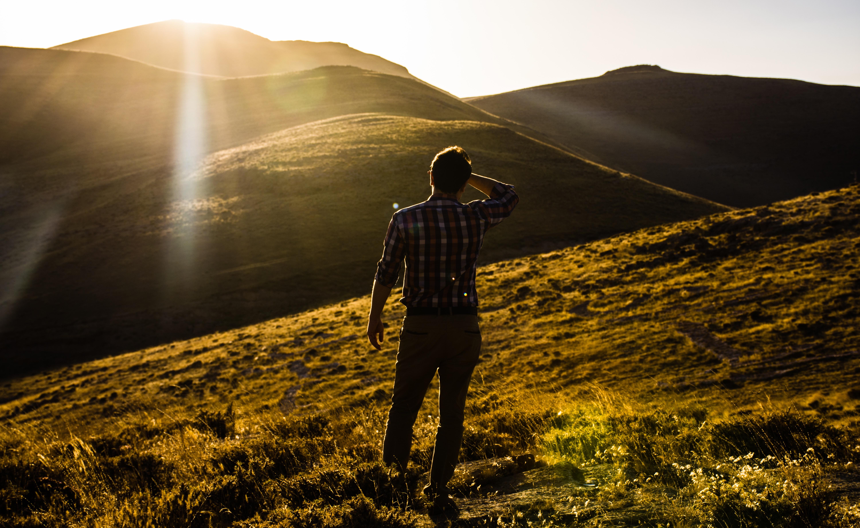 картинки человек спиной на природе съемок фильмах