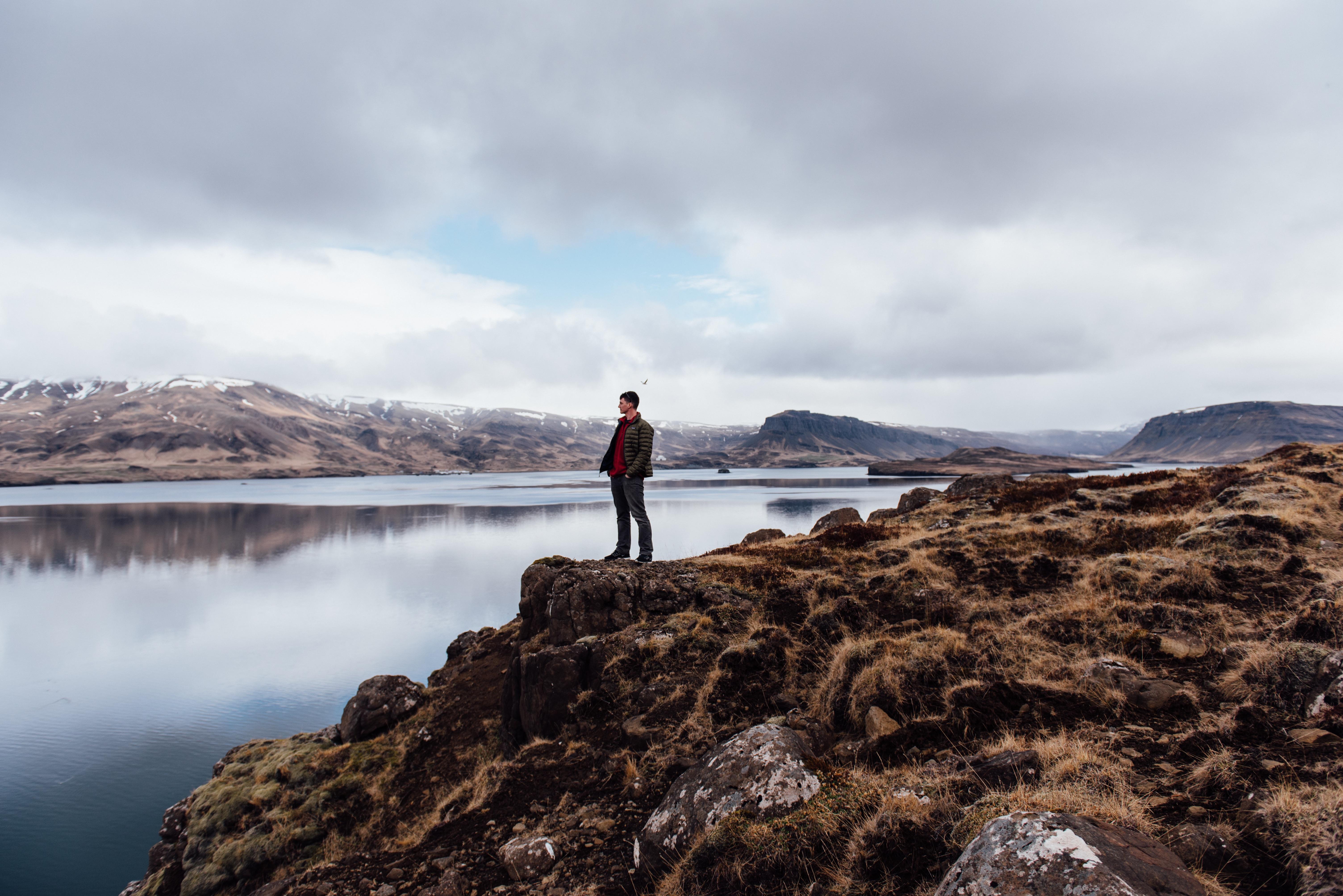 Пейзаж и человек картинка