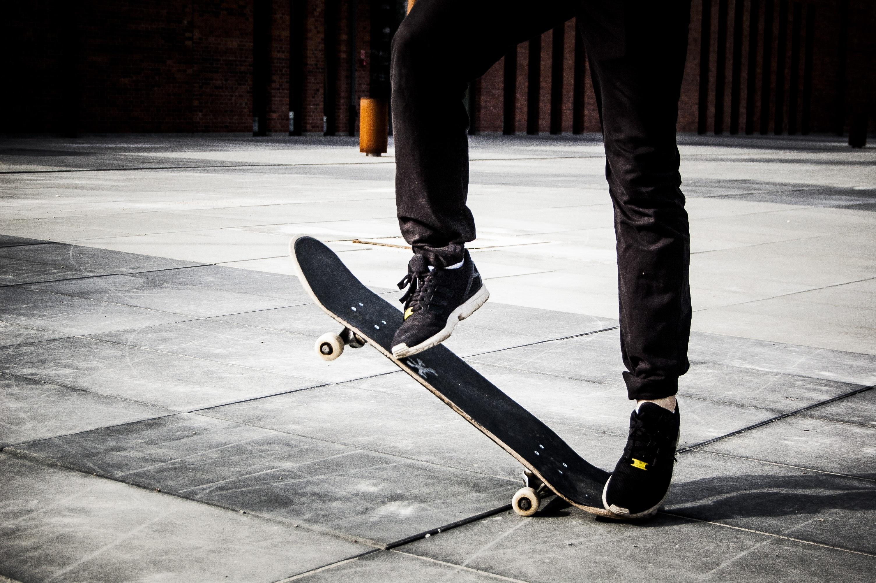 free images man light people white floor skateboard skate
