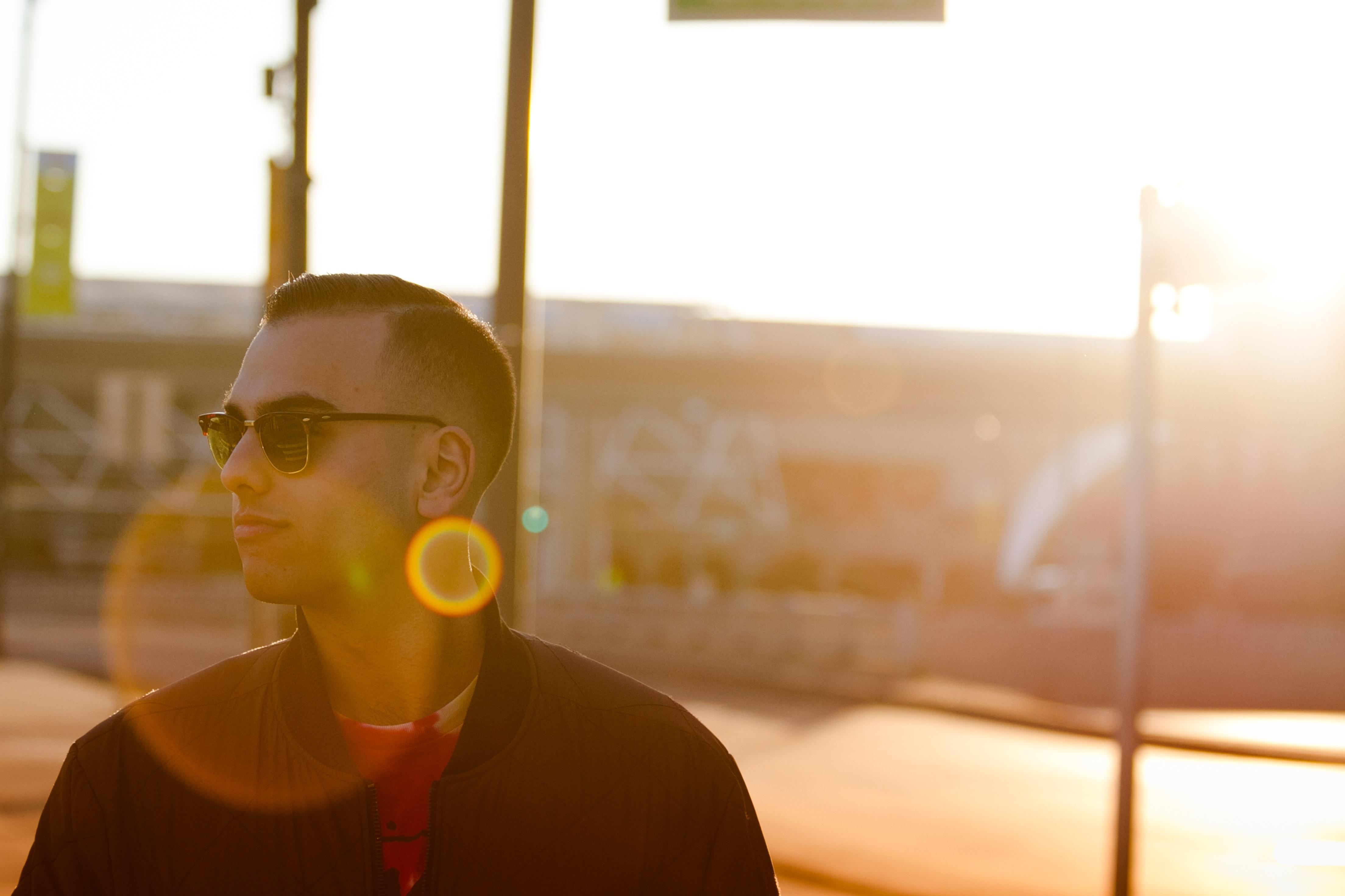ae5c10a5e4 hombre ligero puesta de sol sombra color Gafas de sol amarillo iluminación  Prohibición gafas