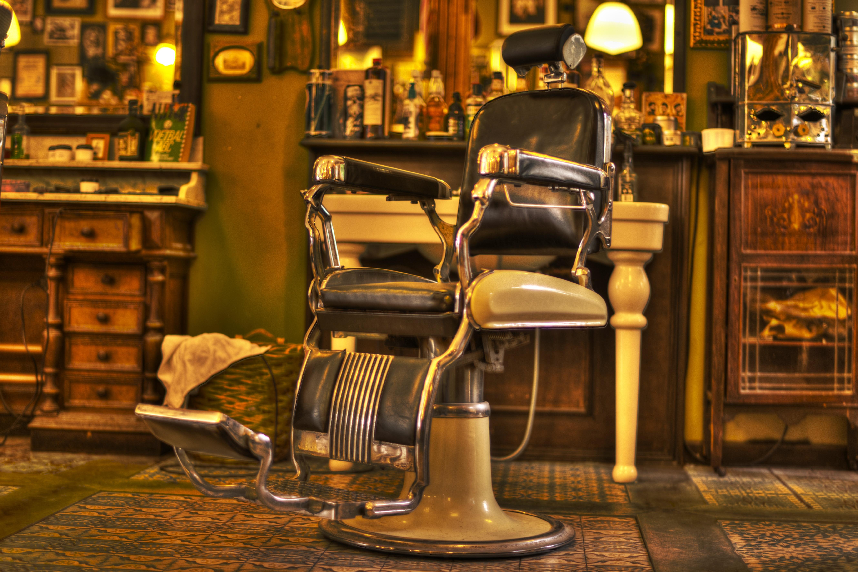 Poze Om Noapte Retro Scaun Restaurant Masculin Bar Magazin