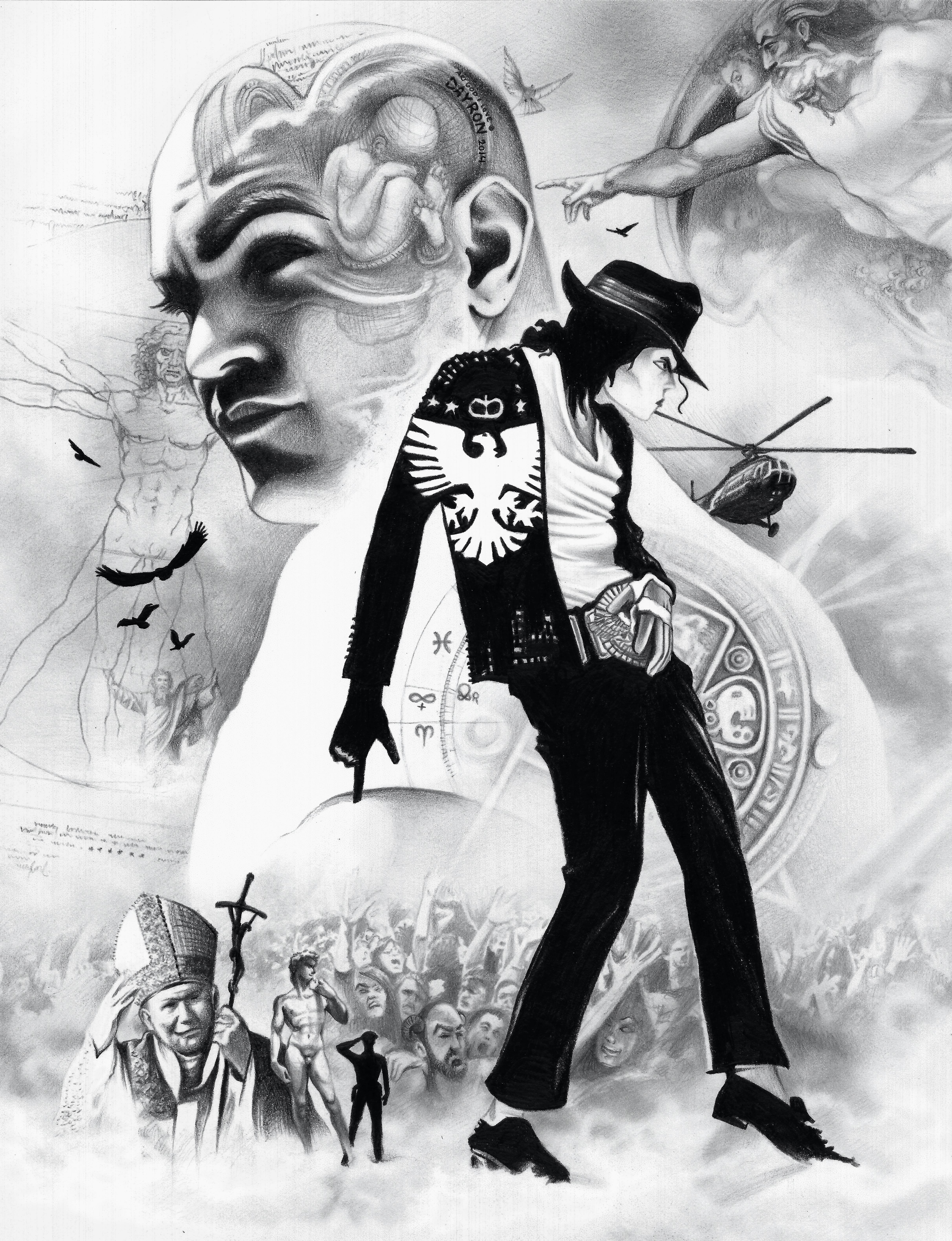 Banco De Imagens Homem Lapis Preto E Branco Jovem Simbolo