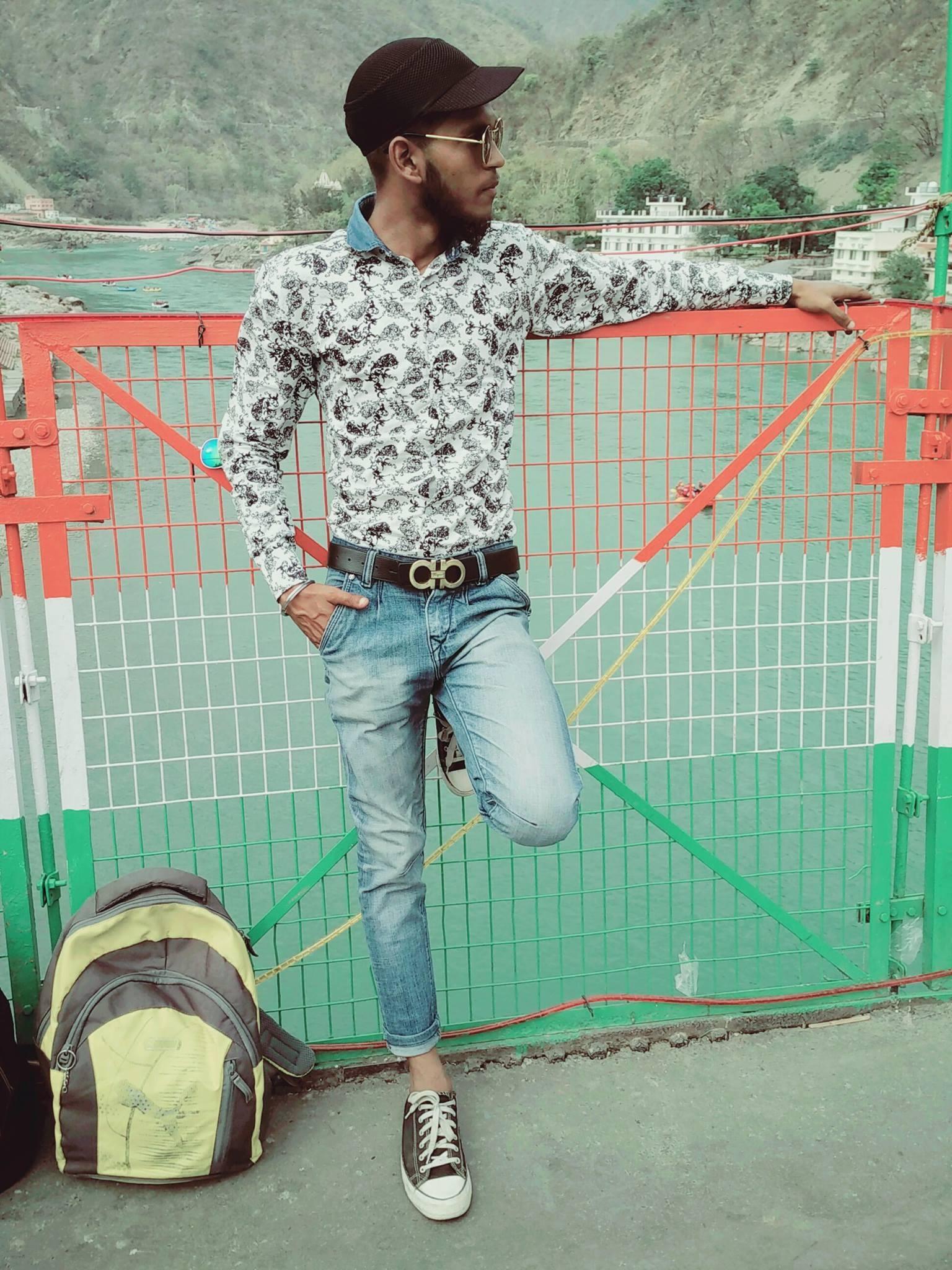 Model stylish boy