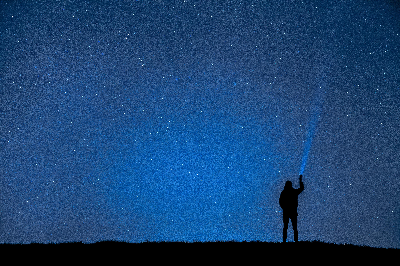 Фото одинокой звезды