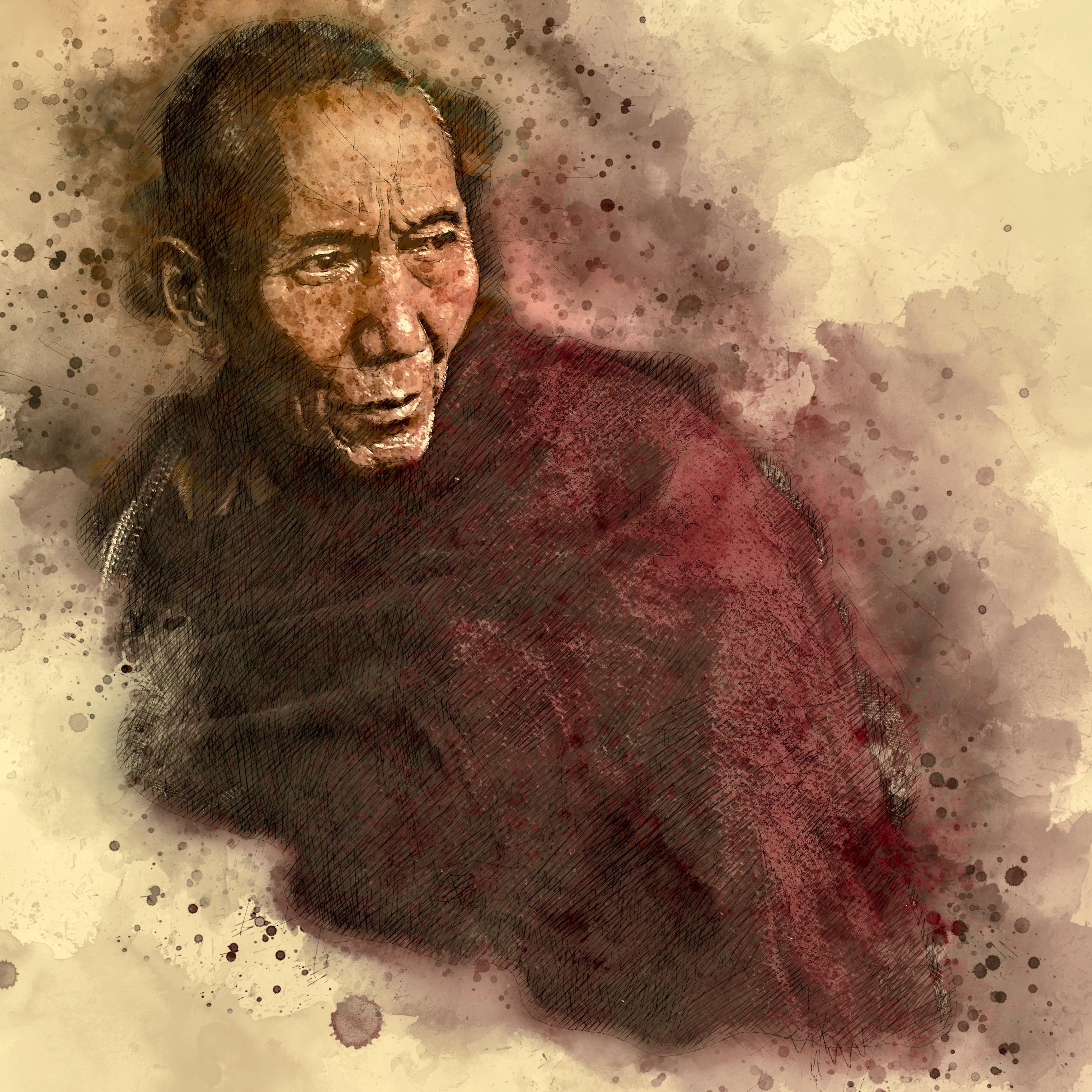 Fotos gratis : hombre, persona, masculino, retrato, budismo, humano ...
