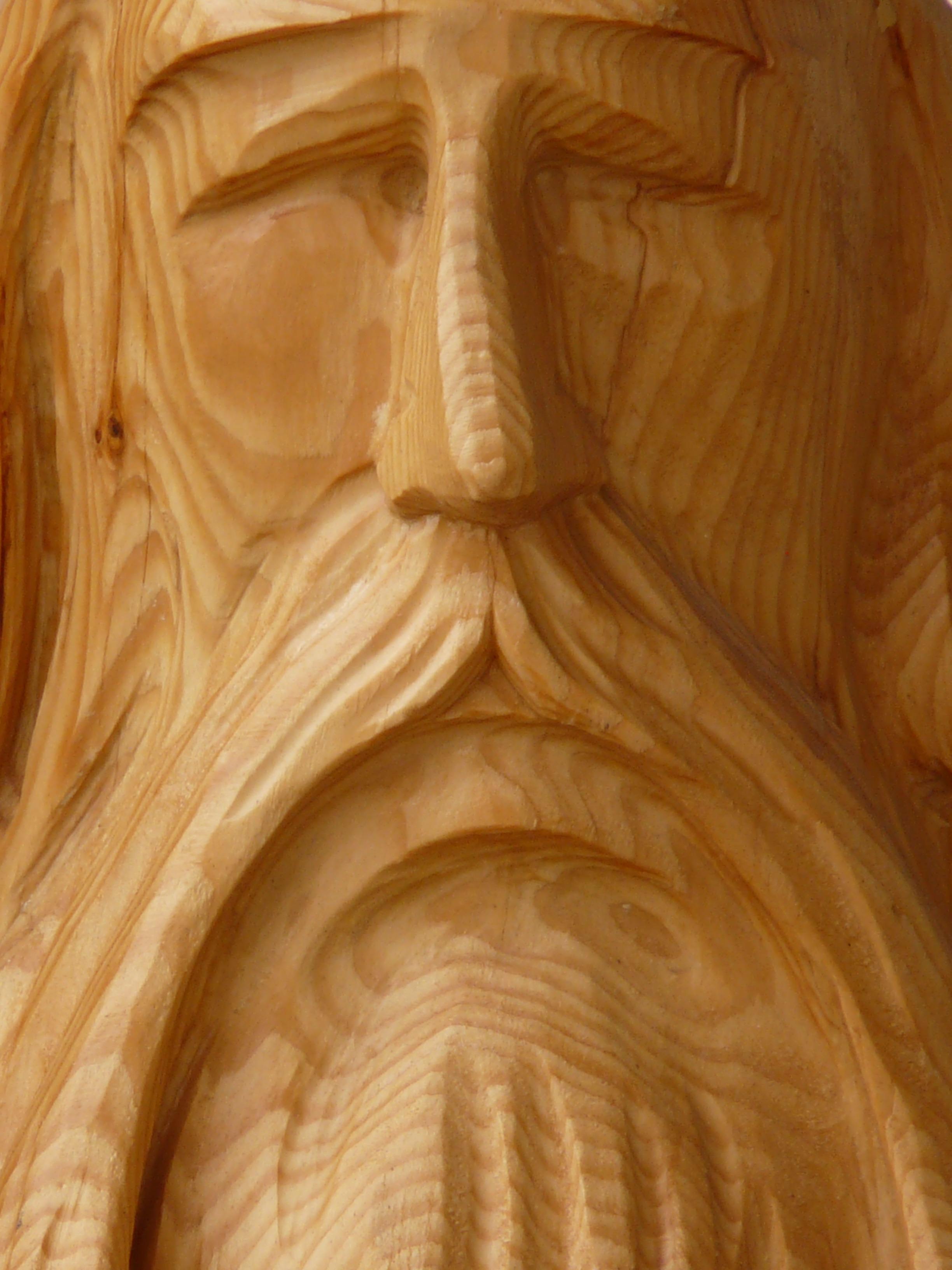 Человек из дерева картинка