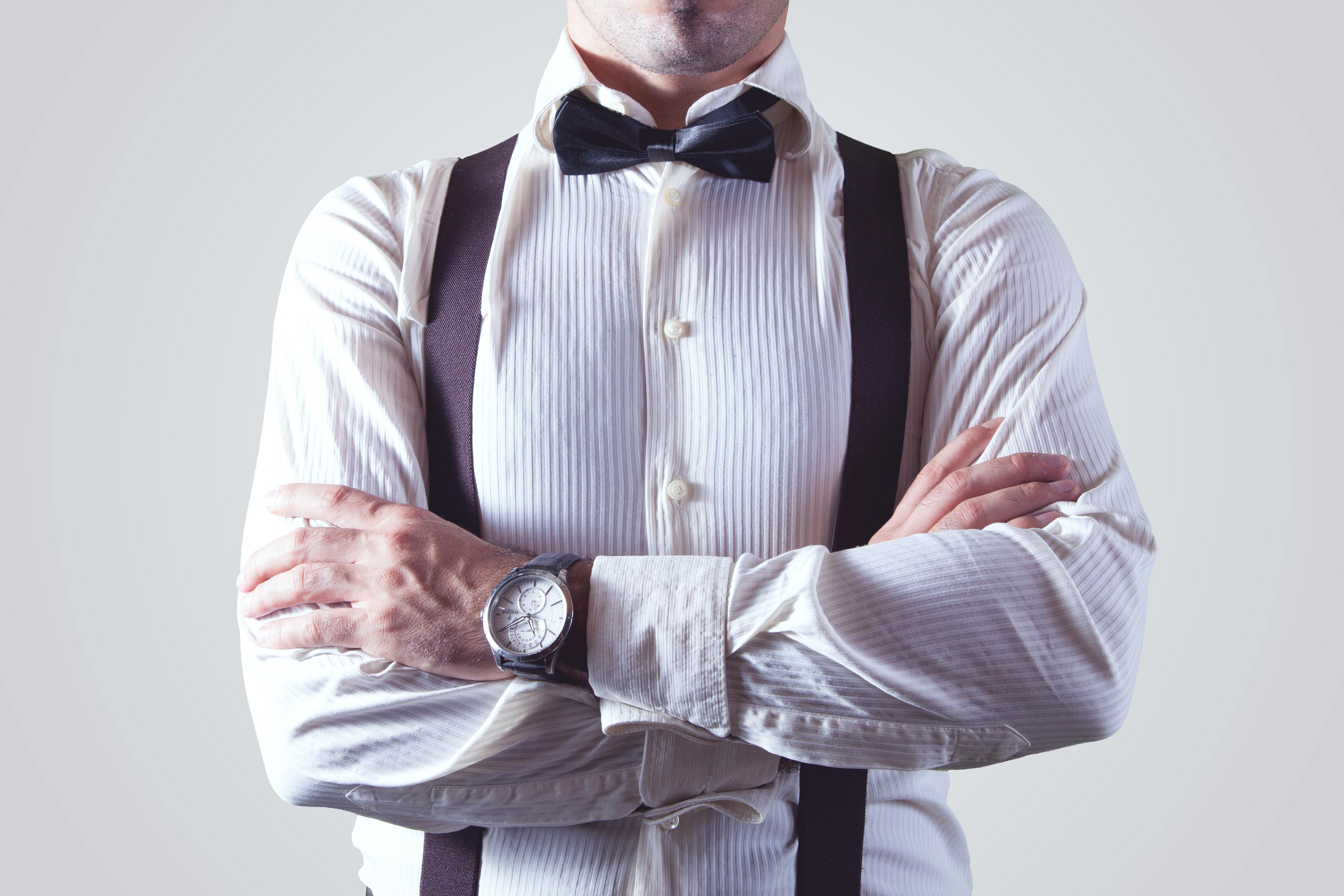 chemise avec broderie homme