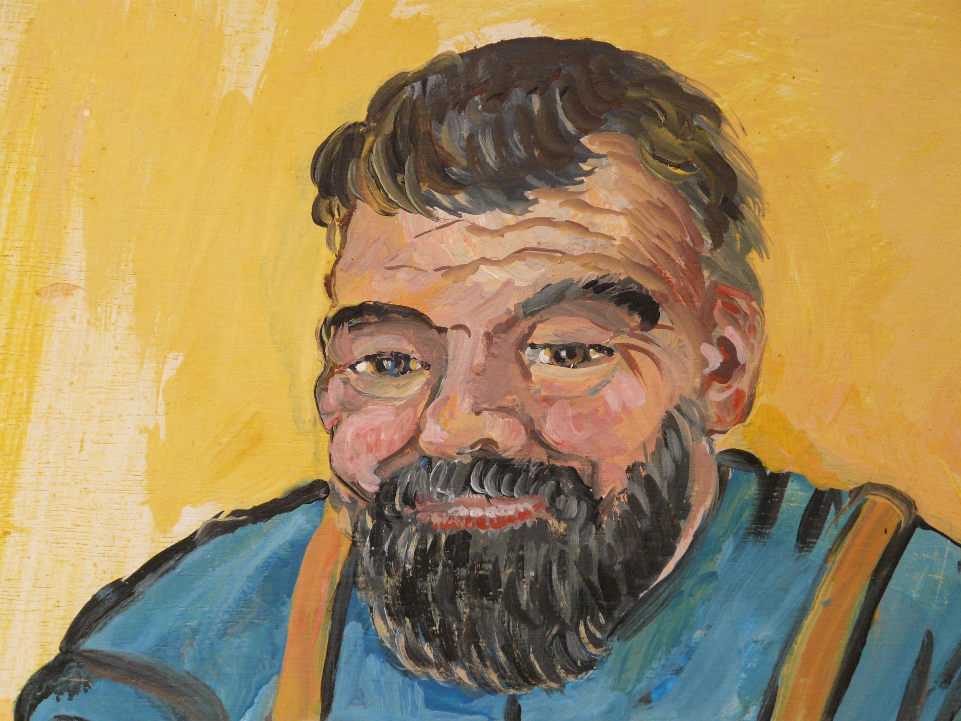 Fotos gratis : hombre, metal, profesión, cara, art, Bart, bosquejo ...