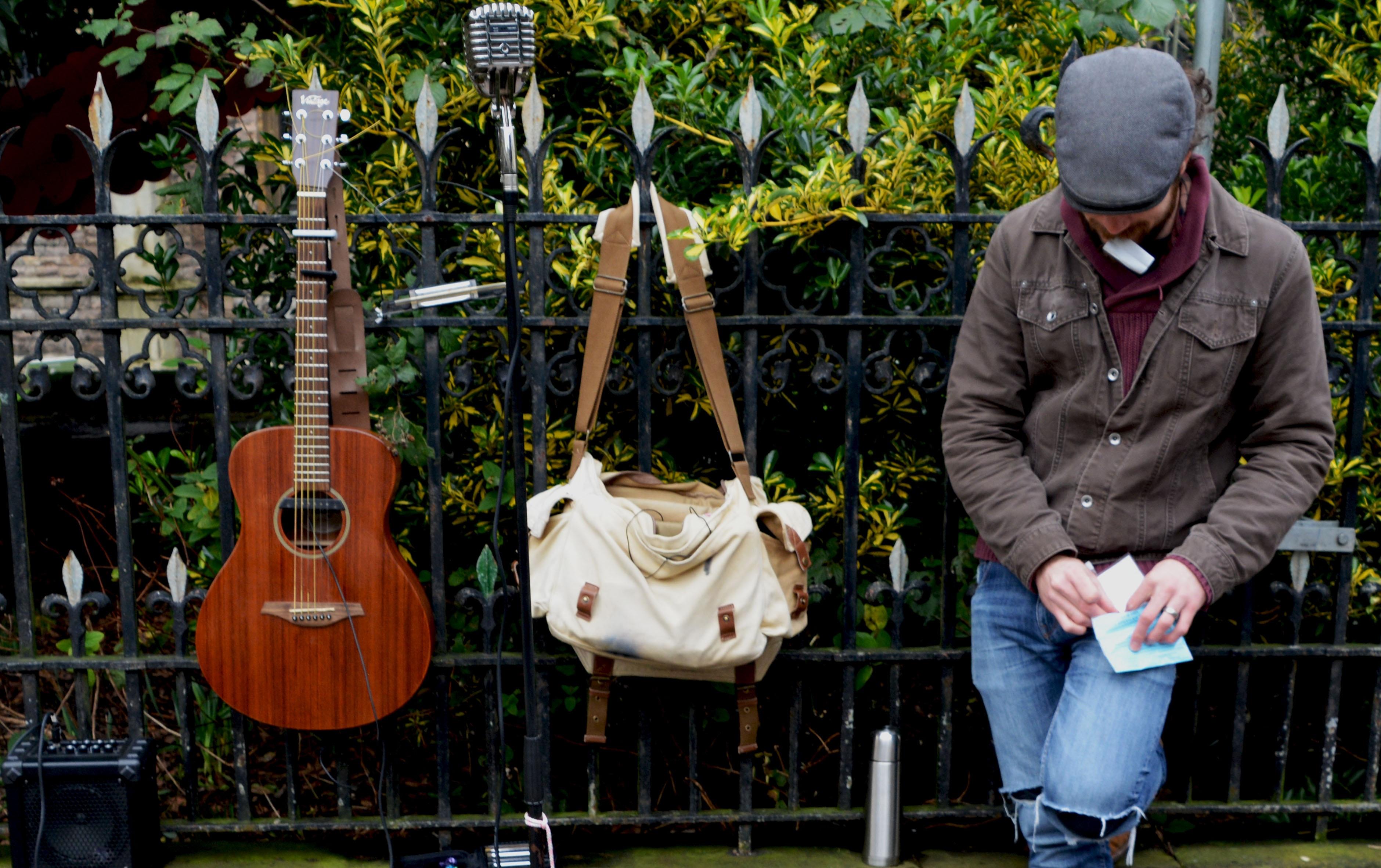 Free Images : man, rock, music, street, play, guitar, city