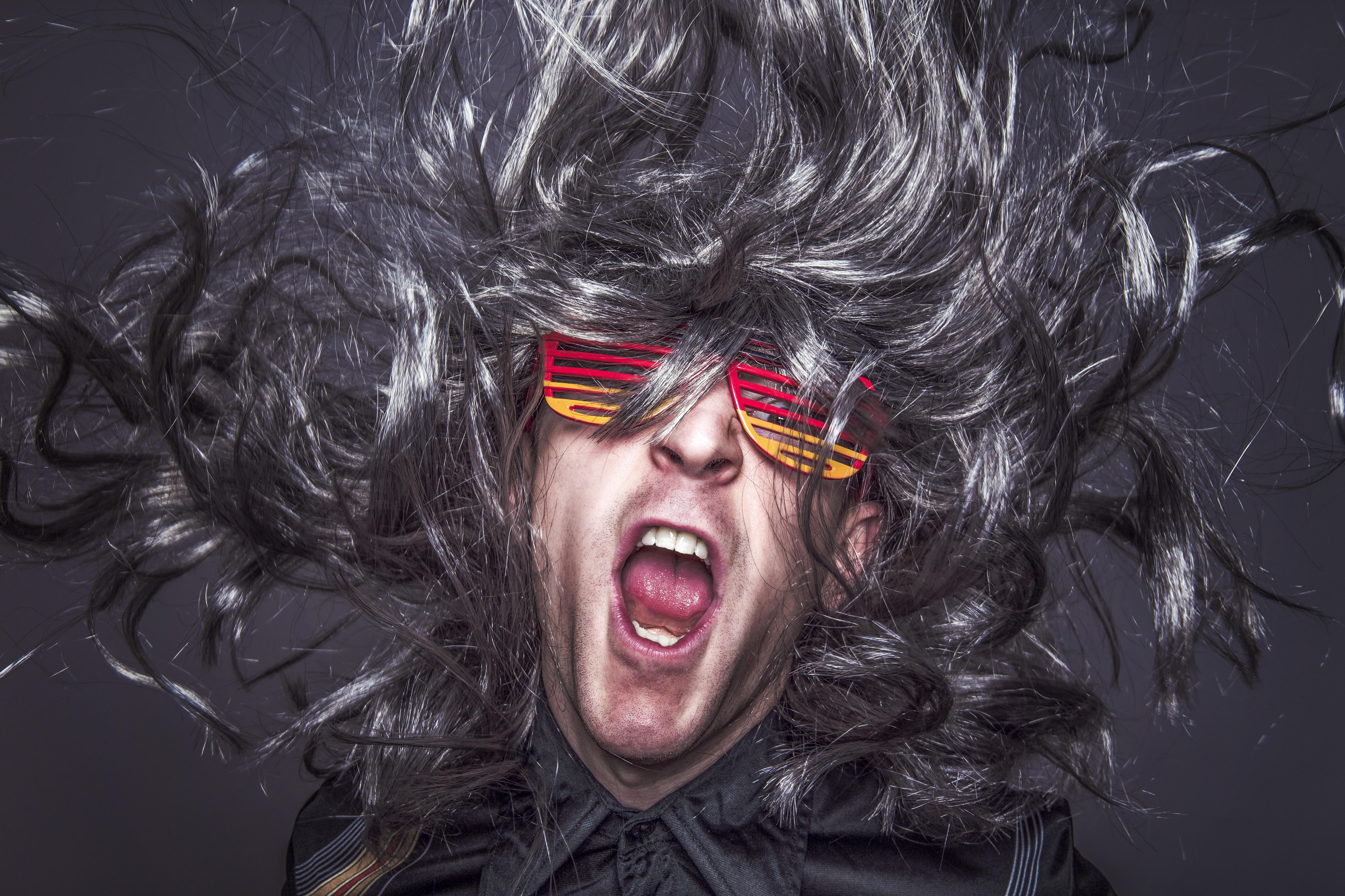 Kostenlose Foto Mann Rock Person Musik Menschen Haar Weiss