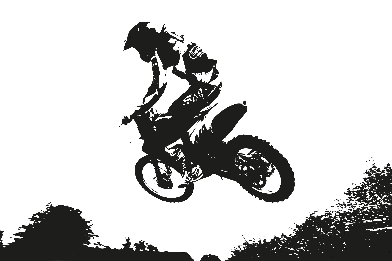 Bukan Kawasaki Klx Apalagi Honda Crf Ini Motor Trail Legendaris
