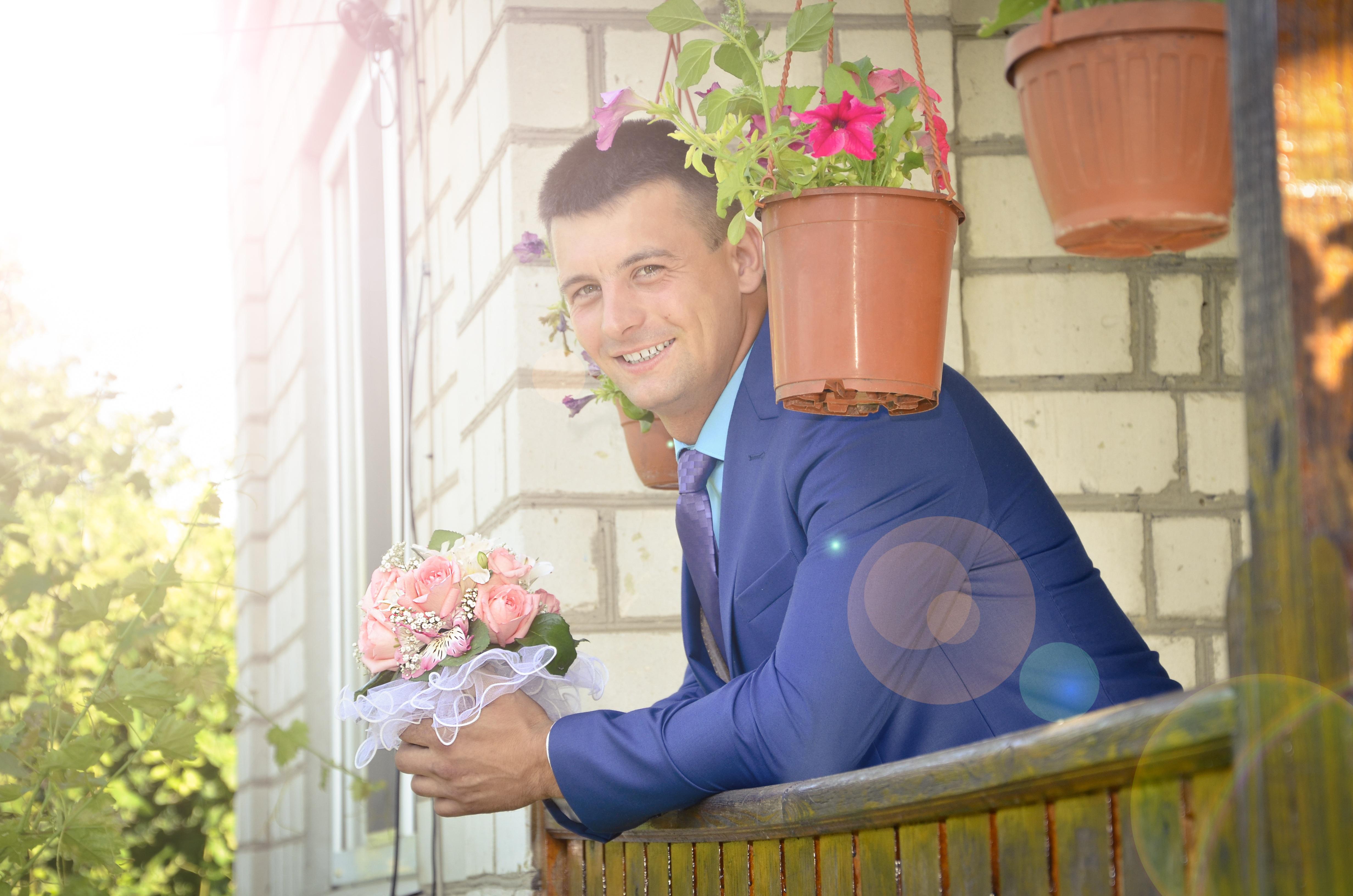 Gratis Afbeeldingen Huwelijk : Gratis afbeeldingen man pak bloem liefde huwelijk
