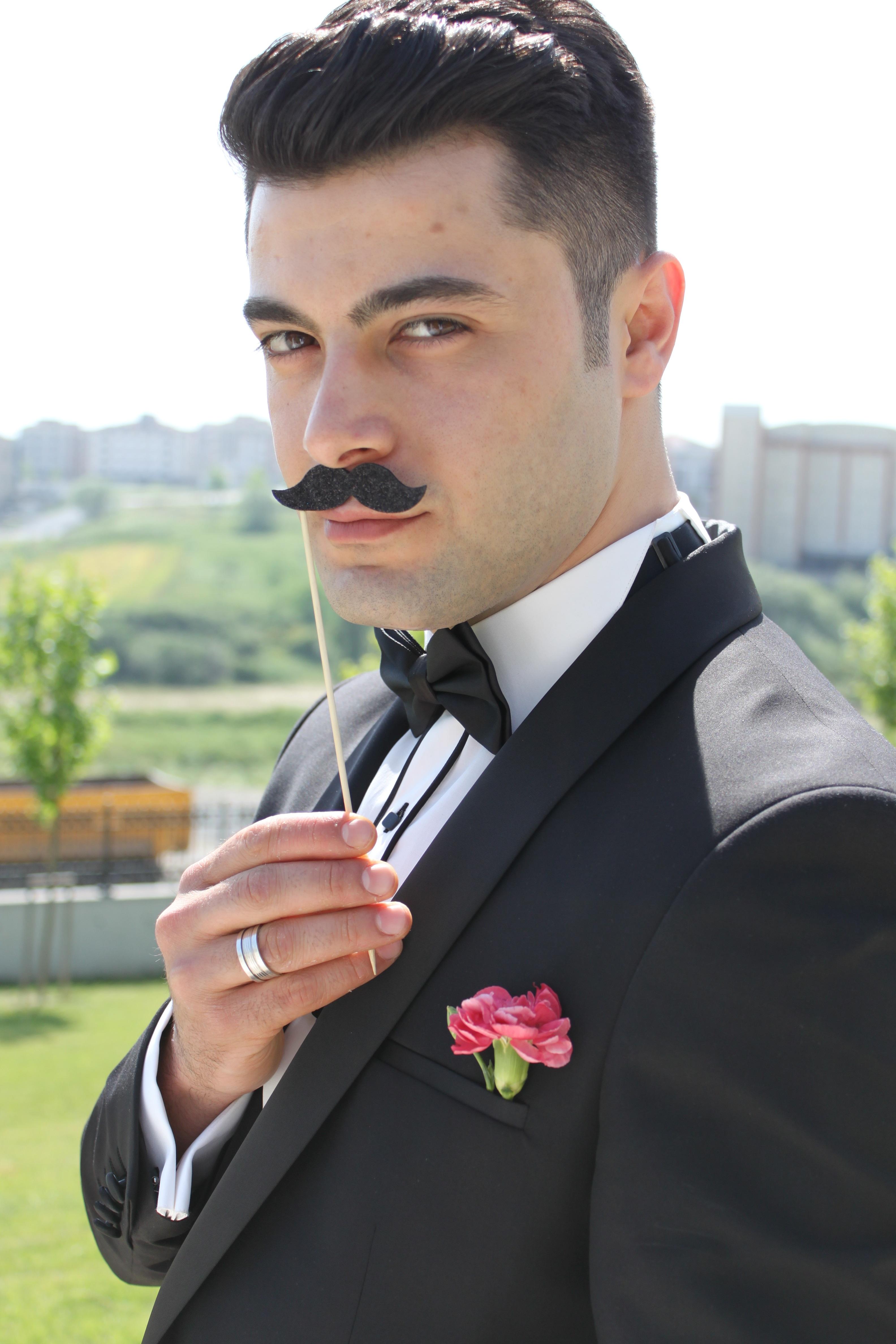 Peinados de hombre boda