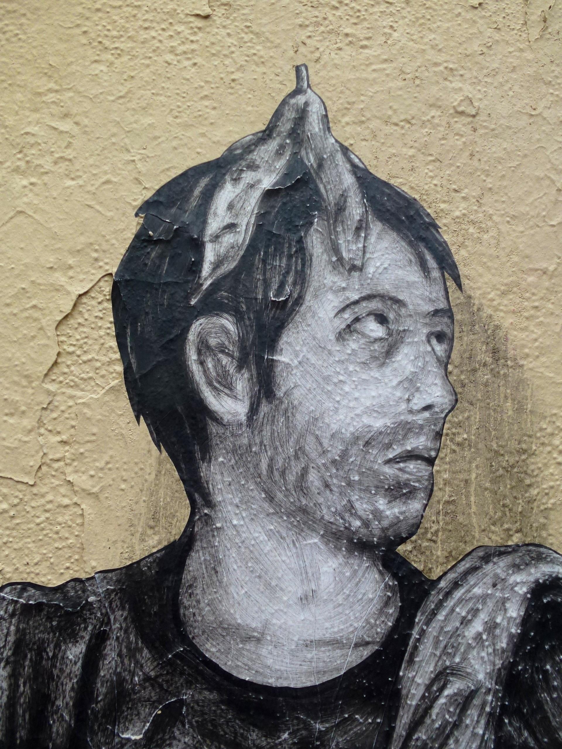 Gambar Manusia Tekstur Paris Perkotaan Dinding Monumen