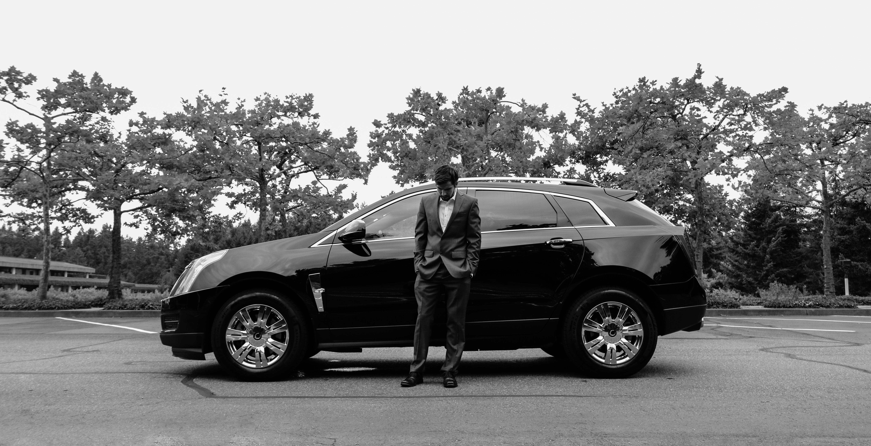 ... People, Car, Wheel, Driving, Male, Portrait, Model, Young, Business,  Monochrome, Wedding, Groom, Modern, Parking Lot, Shirt, Caucasian, Luxury,  Cool, ...
