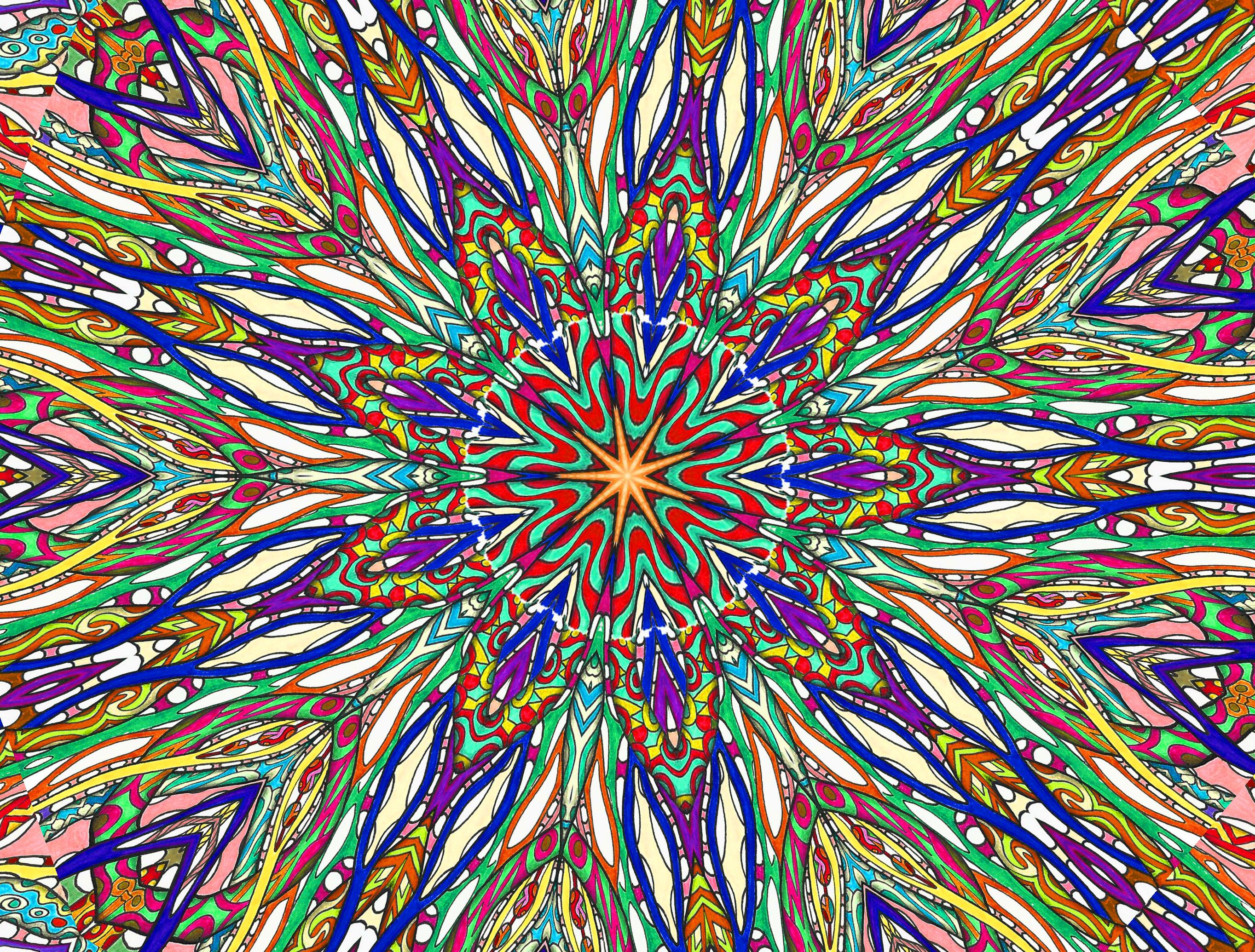 этот калейдоскоп картинки внутри связь