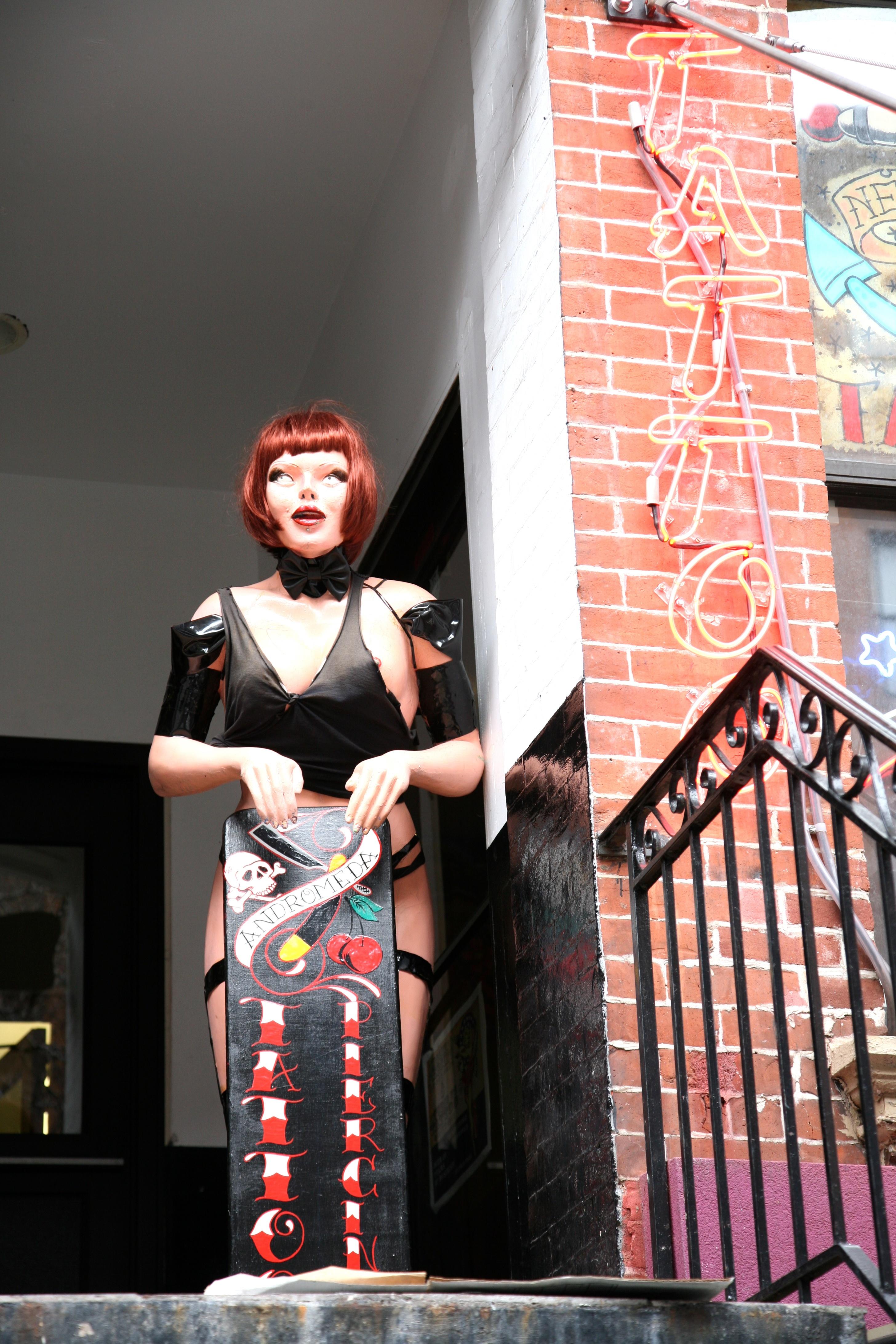 Images Gratuites Manhattan Tatouage Nyc Vetements Percant Art