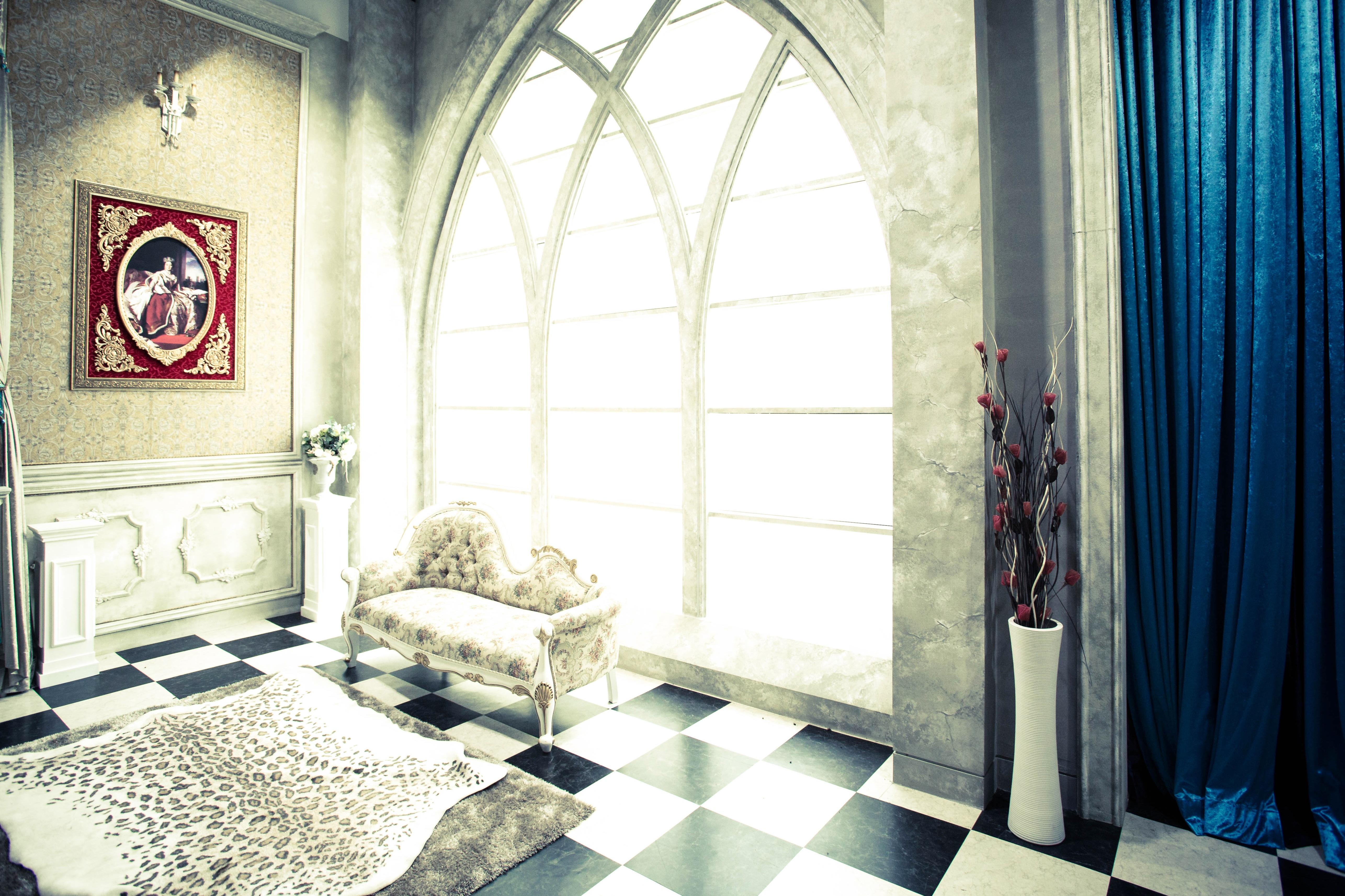 무료 이미지 : 맨션, 바닥, 시골집, 사진관, 커튼, 재산, 거실, 방 ...