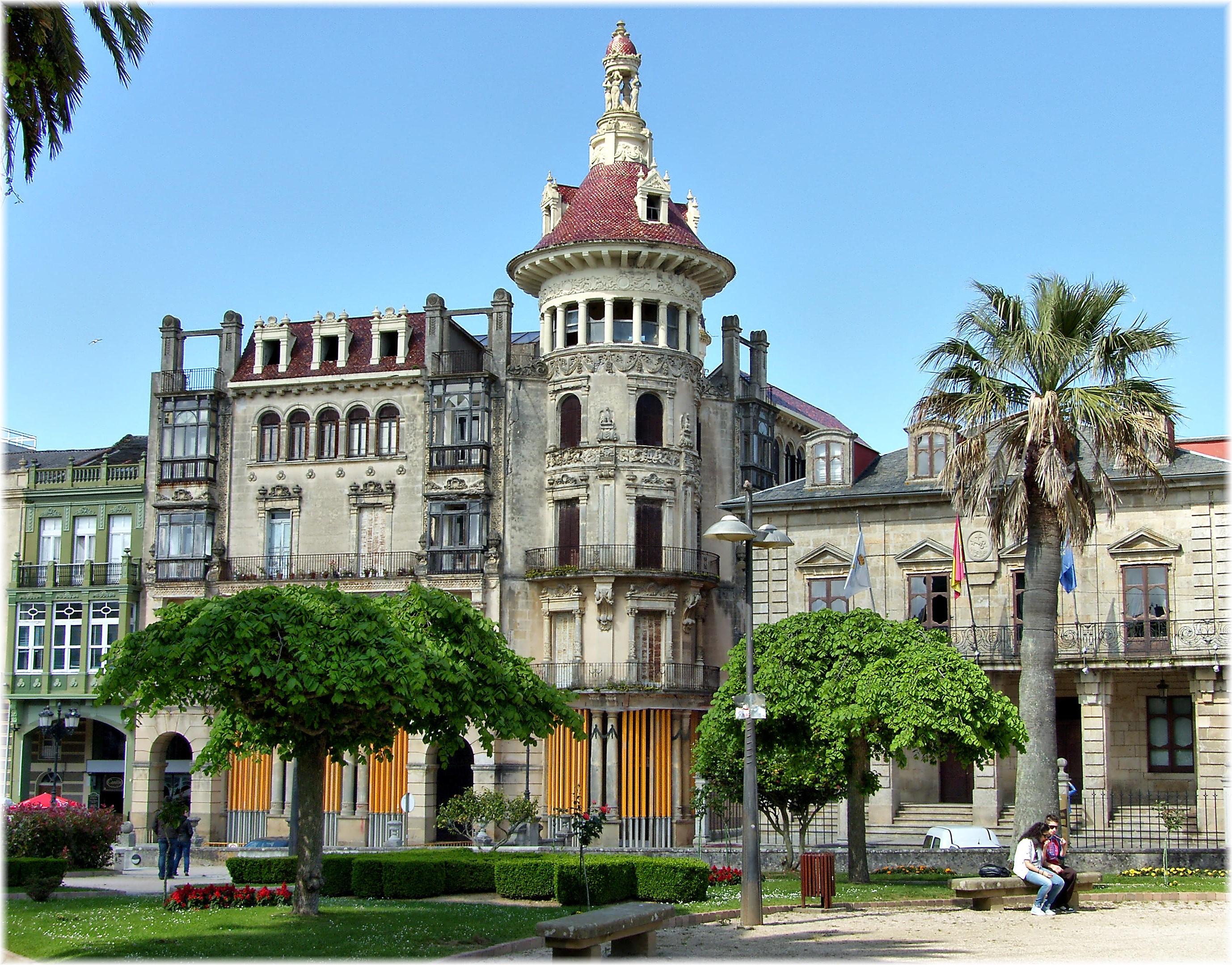 Fotos gratis palacio pueblo edificio europa punto de - Casas gratis en pueblos de espana ...