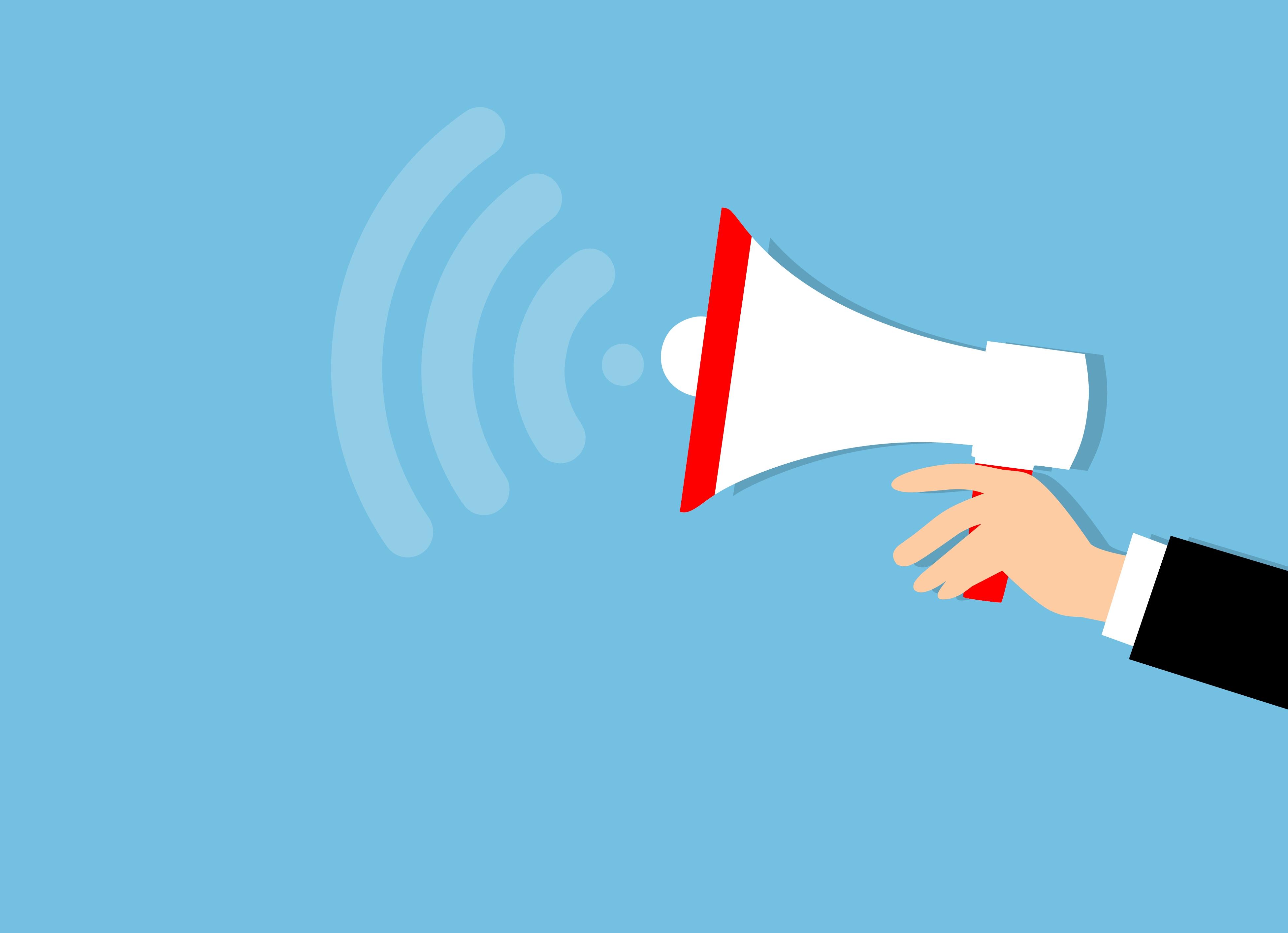 Gambar Pemasaran Megafon Iklan Pengumuman Penyiaran Tanduk Waspada Peralatan Spanduk Komunikasi Audio Bisnis Keras Pembicara Promosi Informasi Memajukan Pesan Presentasi Suara Pidato Langit Garis Fon Jabatan Tangan Sudut