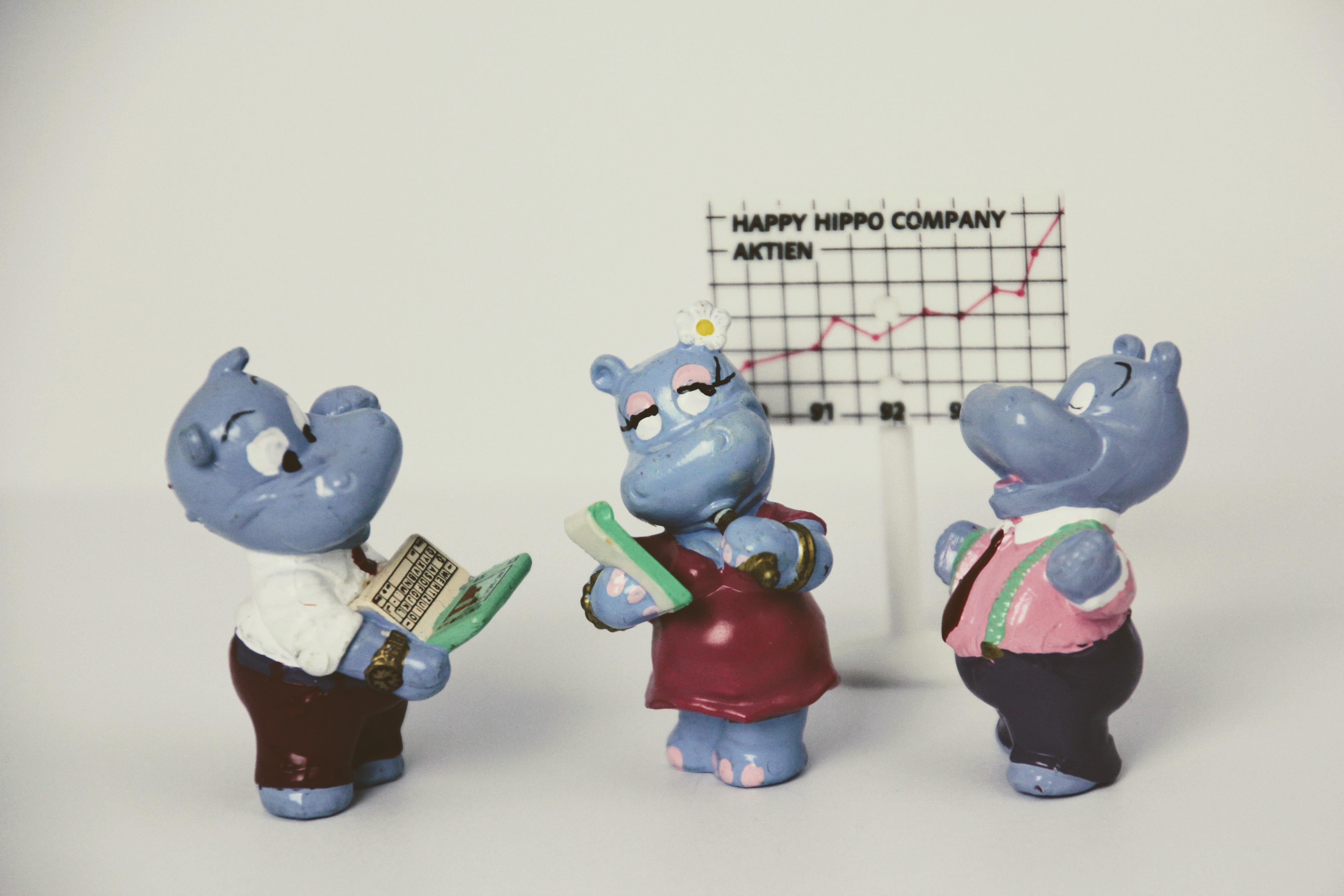 Gambar Pertemuan Koleksi Kantor Biru Mainan Produk Seni