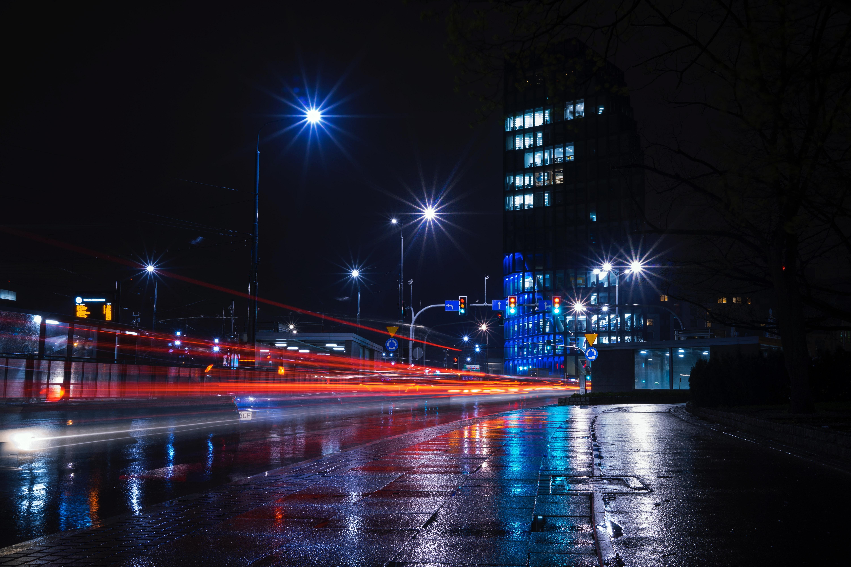 Free Images Metropolitan Area Night Reflection Urban