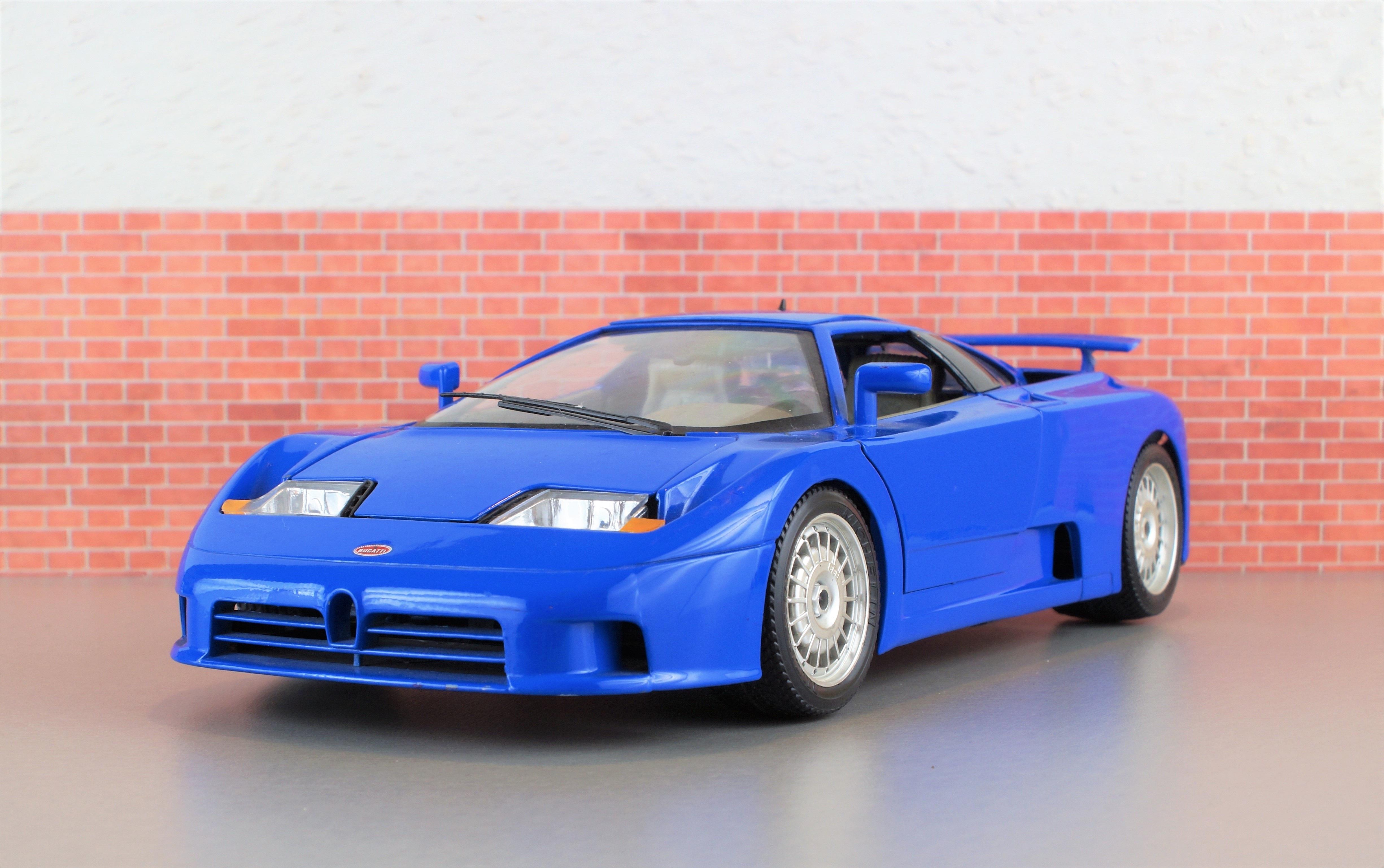 Kostenlose Foto Modellauto Bugatti Modell Auto