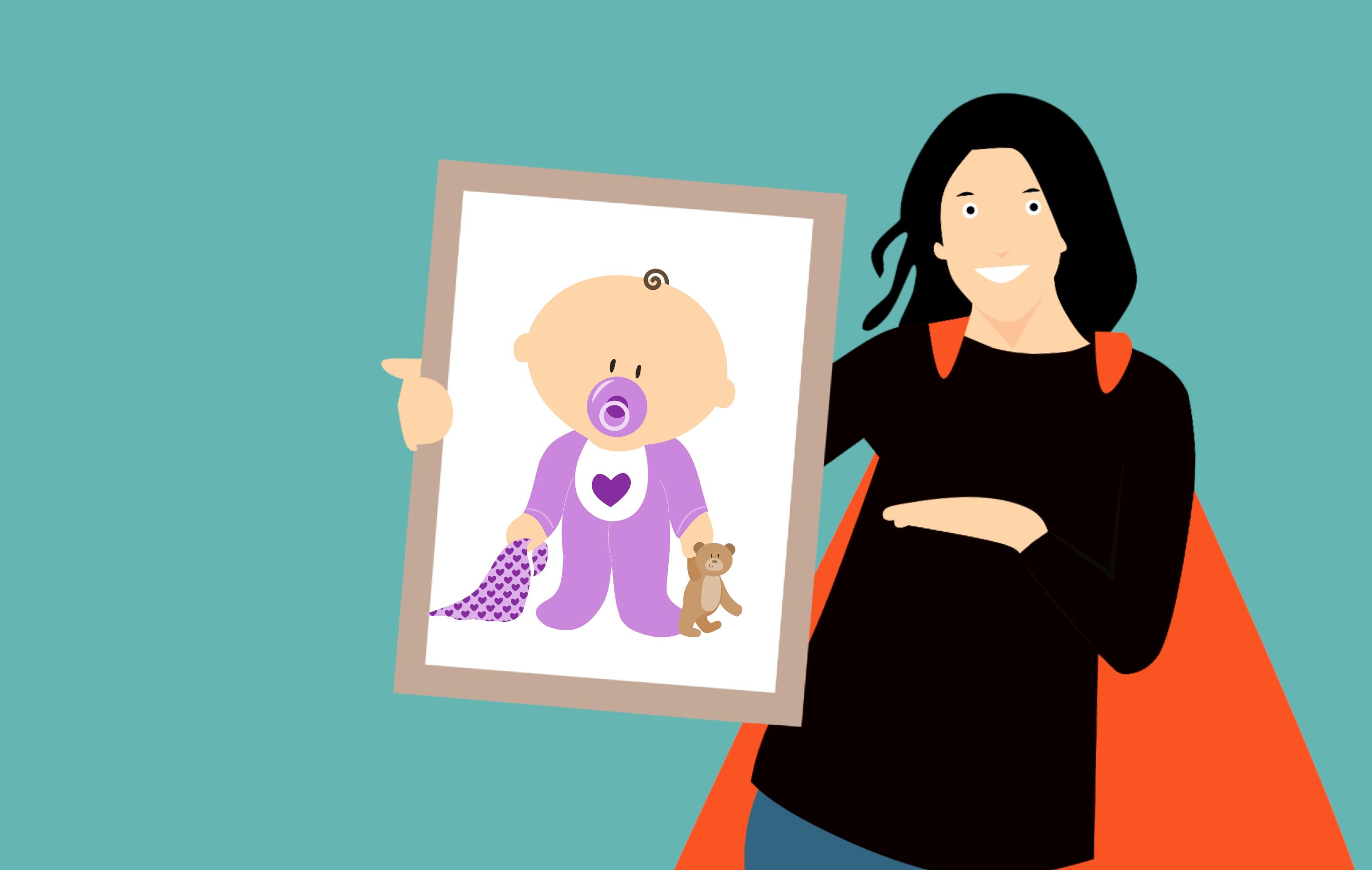 Gambar Mama Super Ibu Pahlawan Anak Keluarga Super