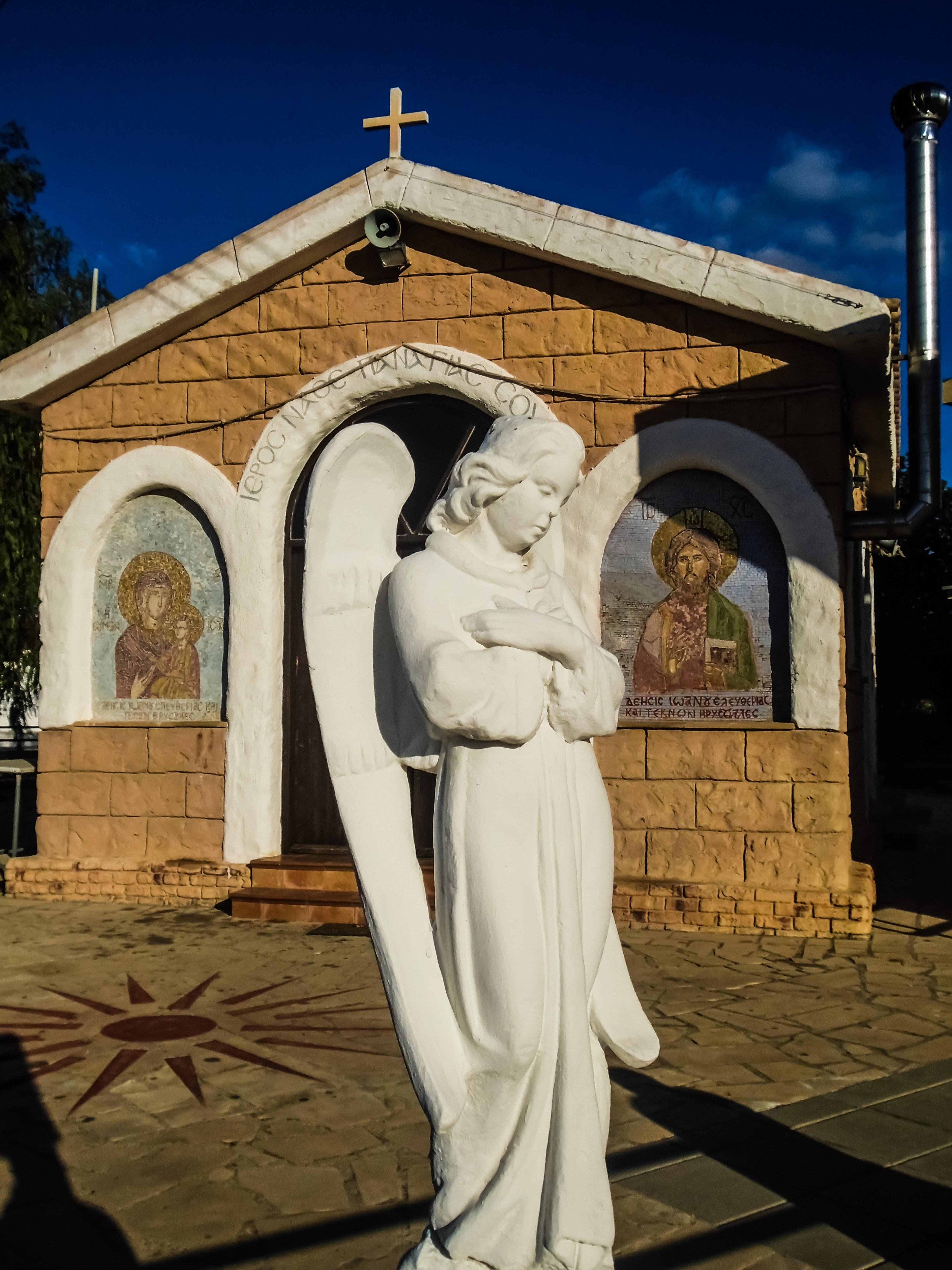Фотографии ангелов в церкви
