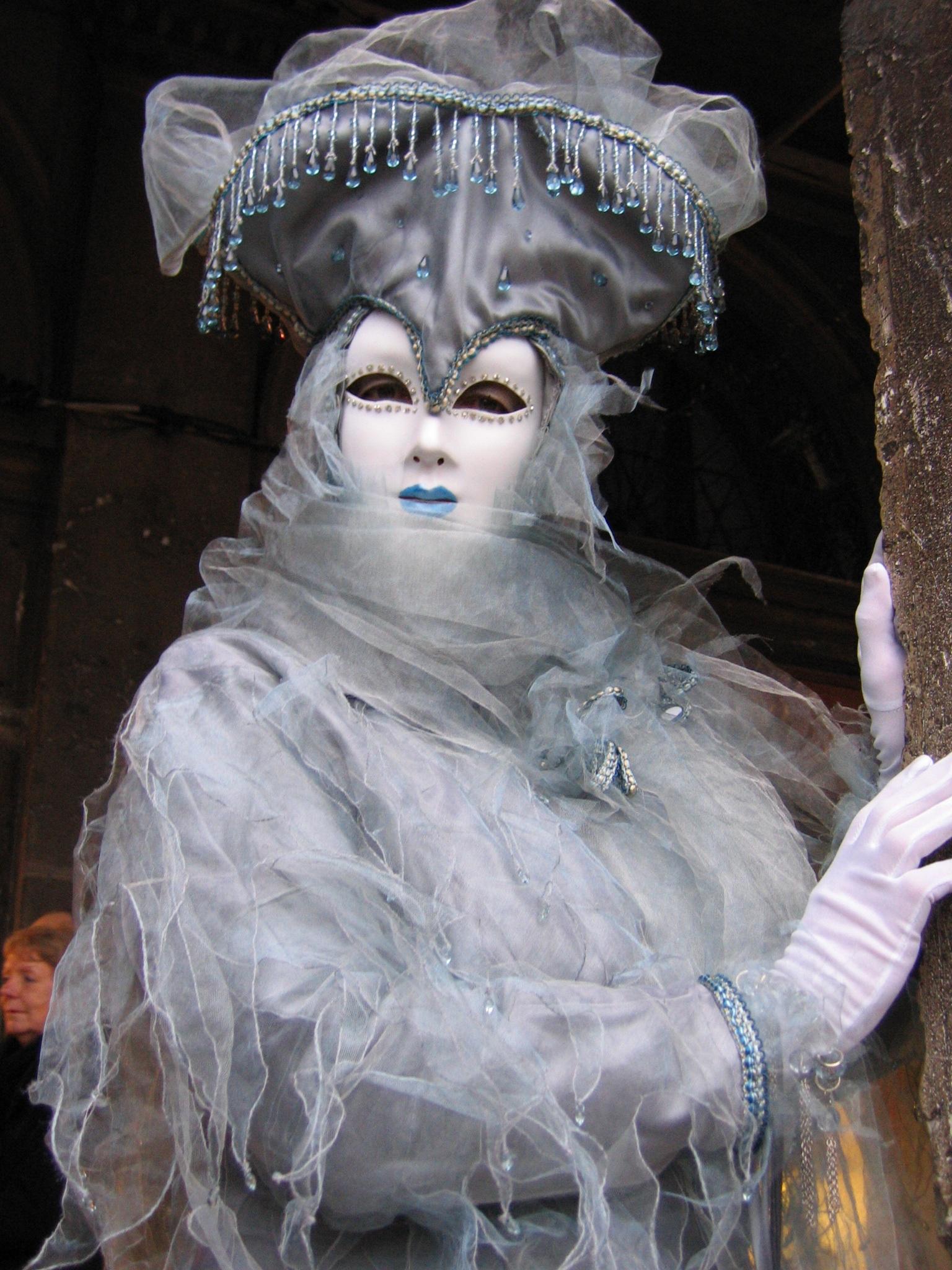 Bildet : monument, statue, karneval, Venezia, blå, klær, skulptur, Kunst, maske, mystisk ...