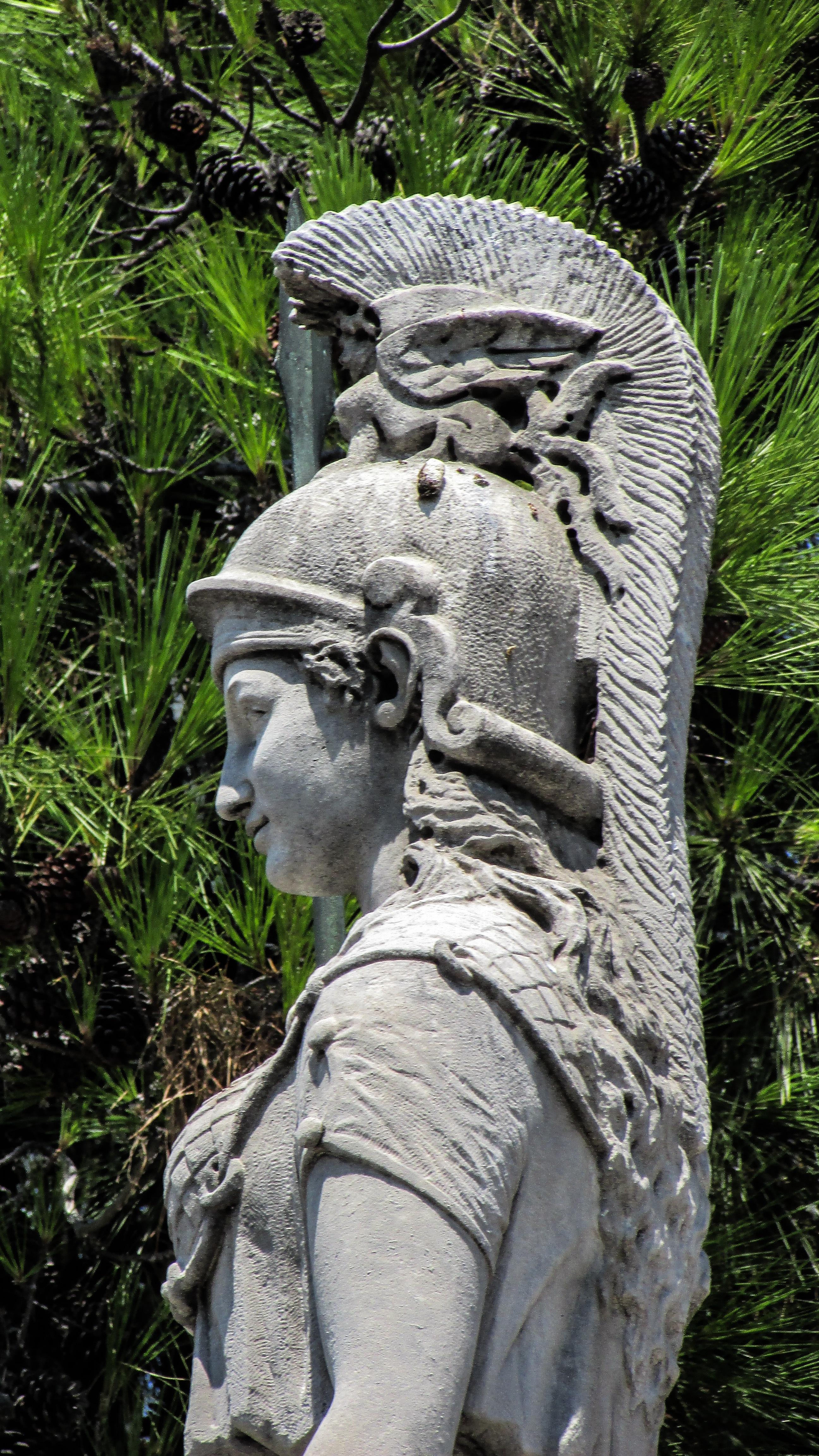 banco de imagens monumento estátua grego arte clássico templo