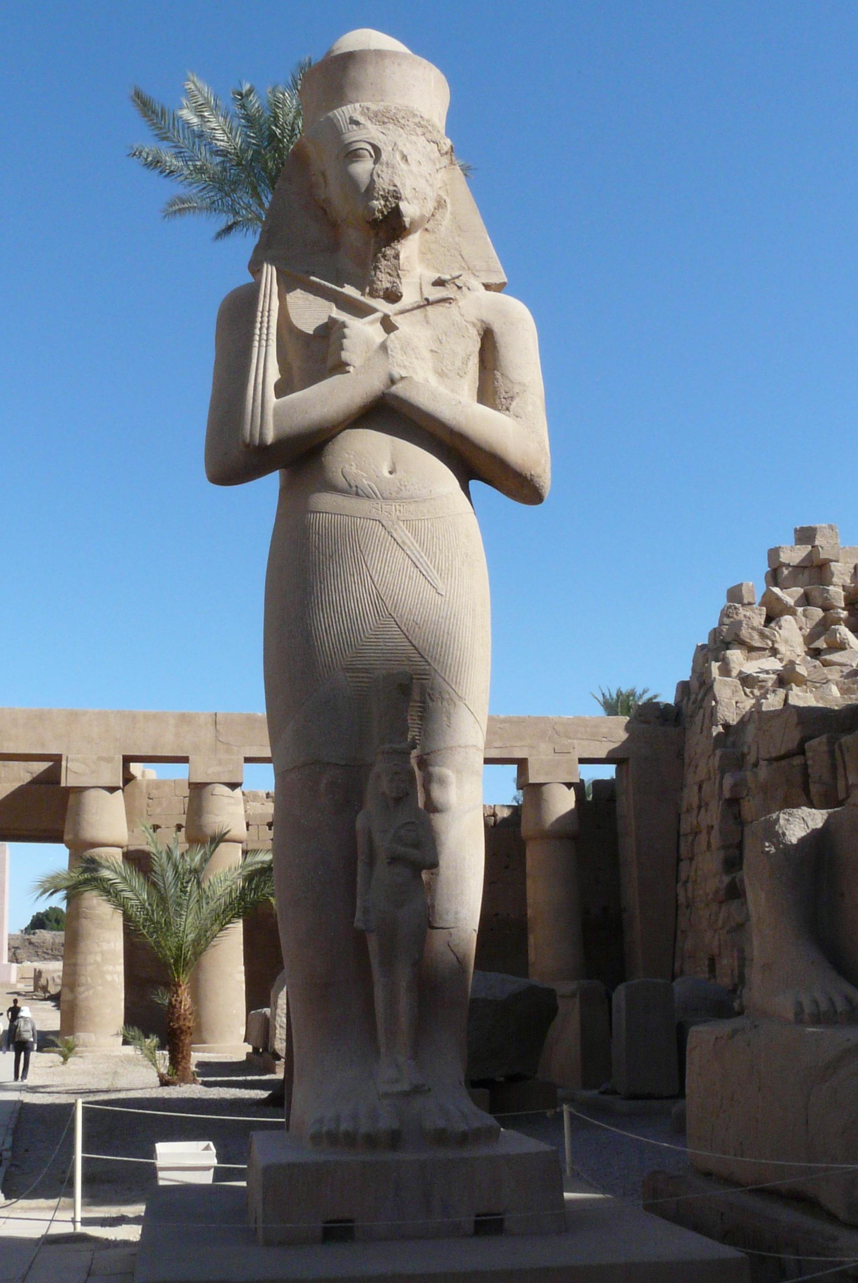 вместе картинки египет статуи компонентами