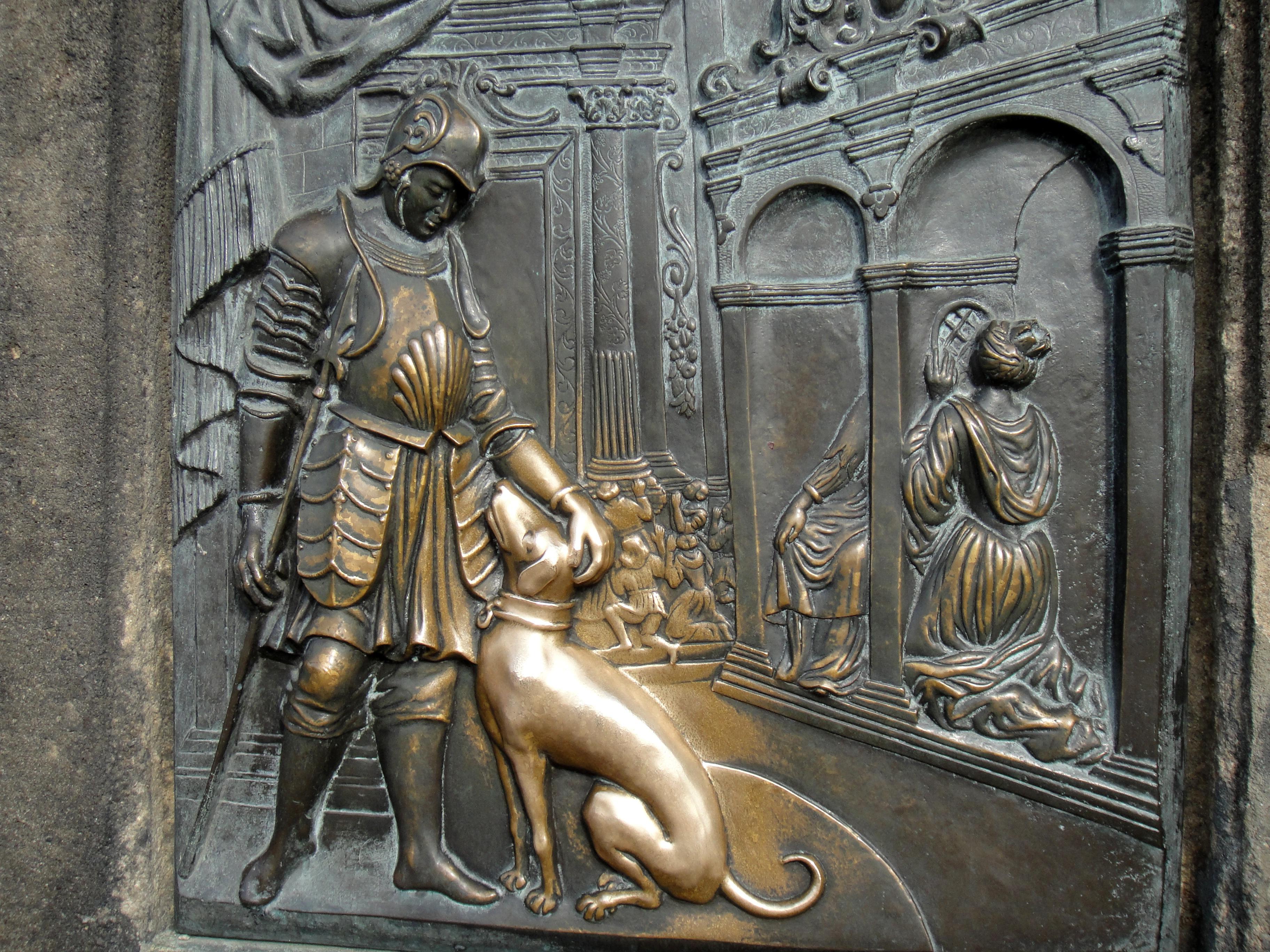 Free images monument statue metal prague sculpture