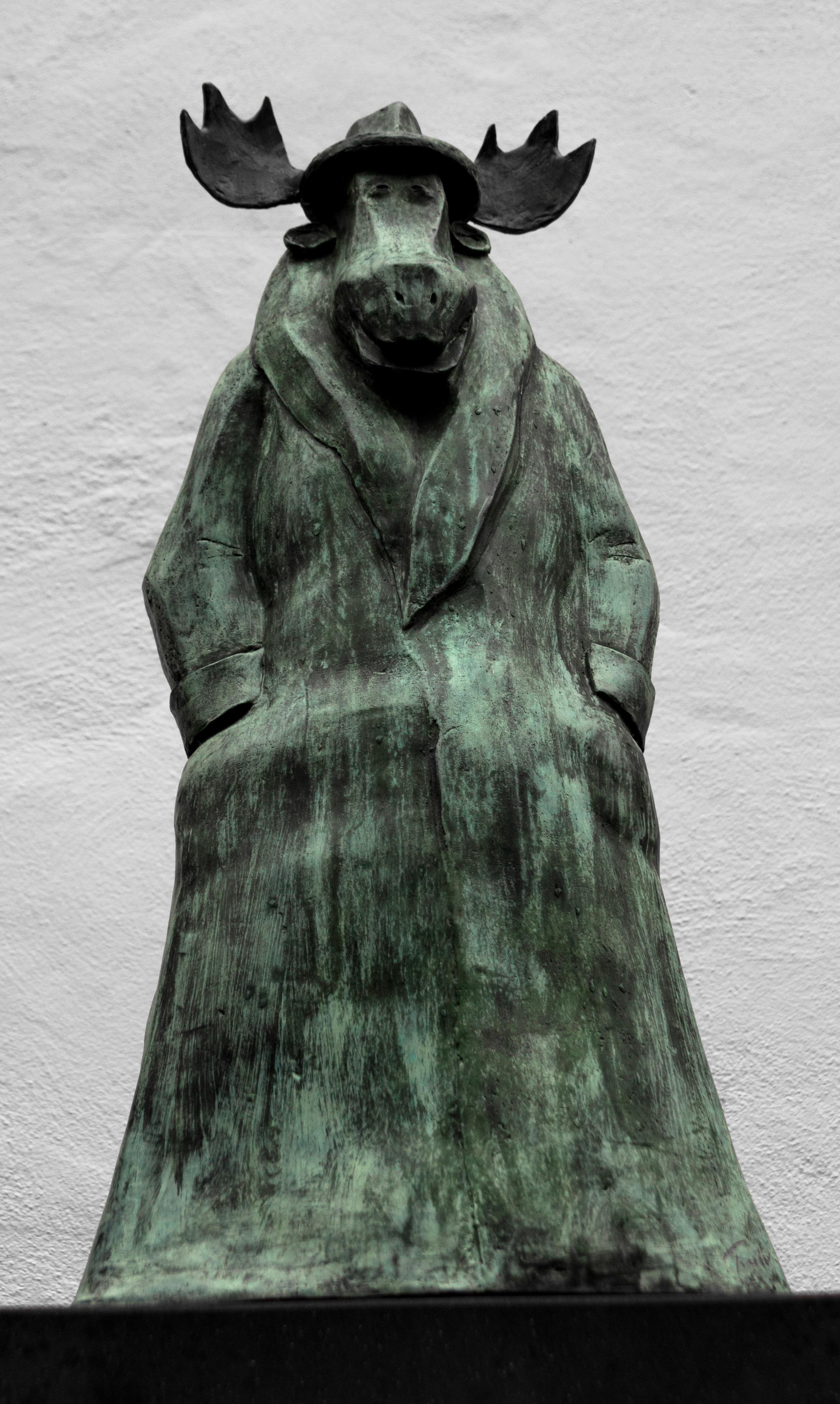 Gambar Monumen Patung Museum Topi Hitam Seni Sketsa Gambar