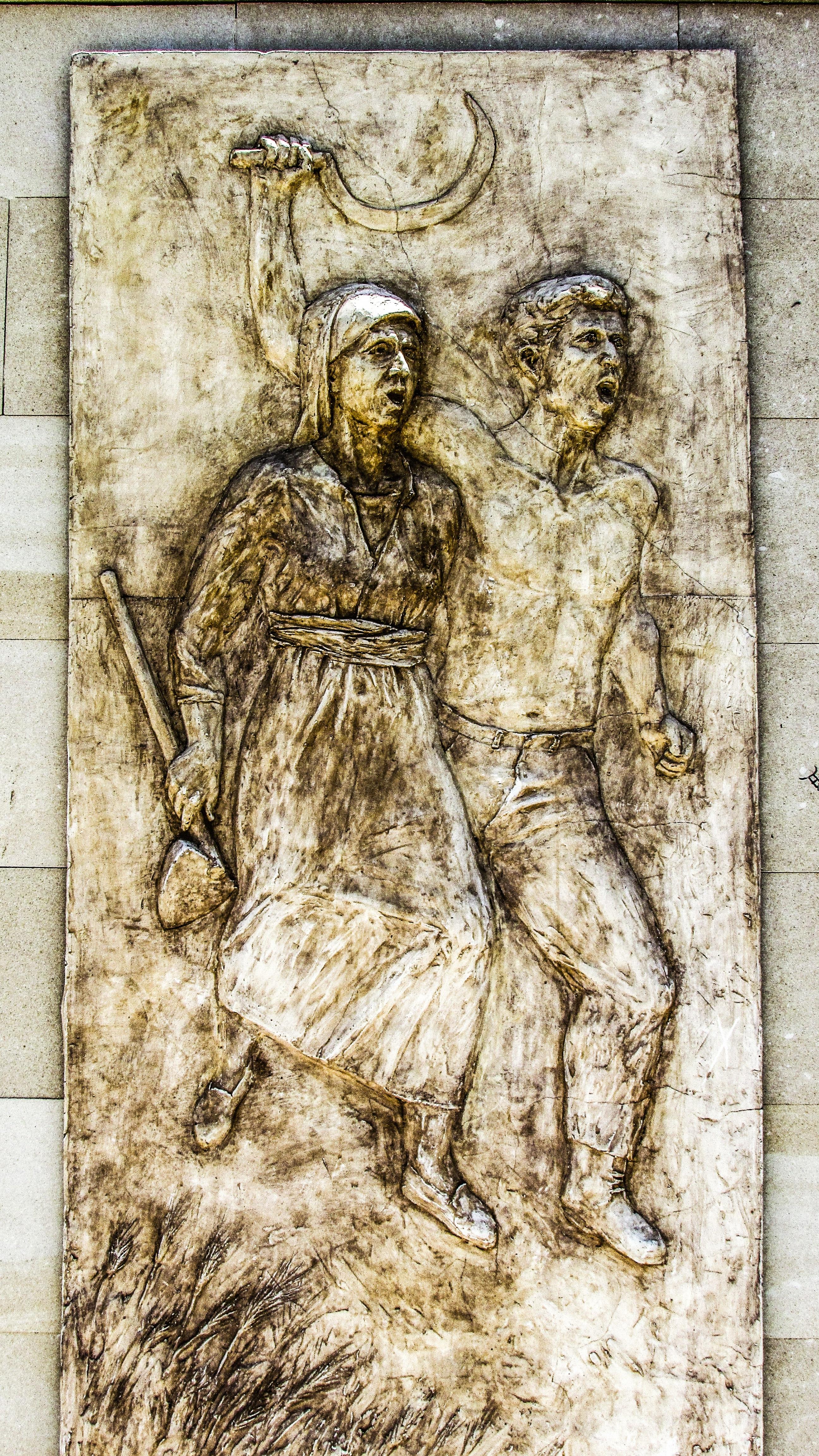 Gambar Monumen Patung Lukisan Sketsa Gambar Ukiran Bantuan