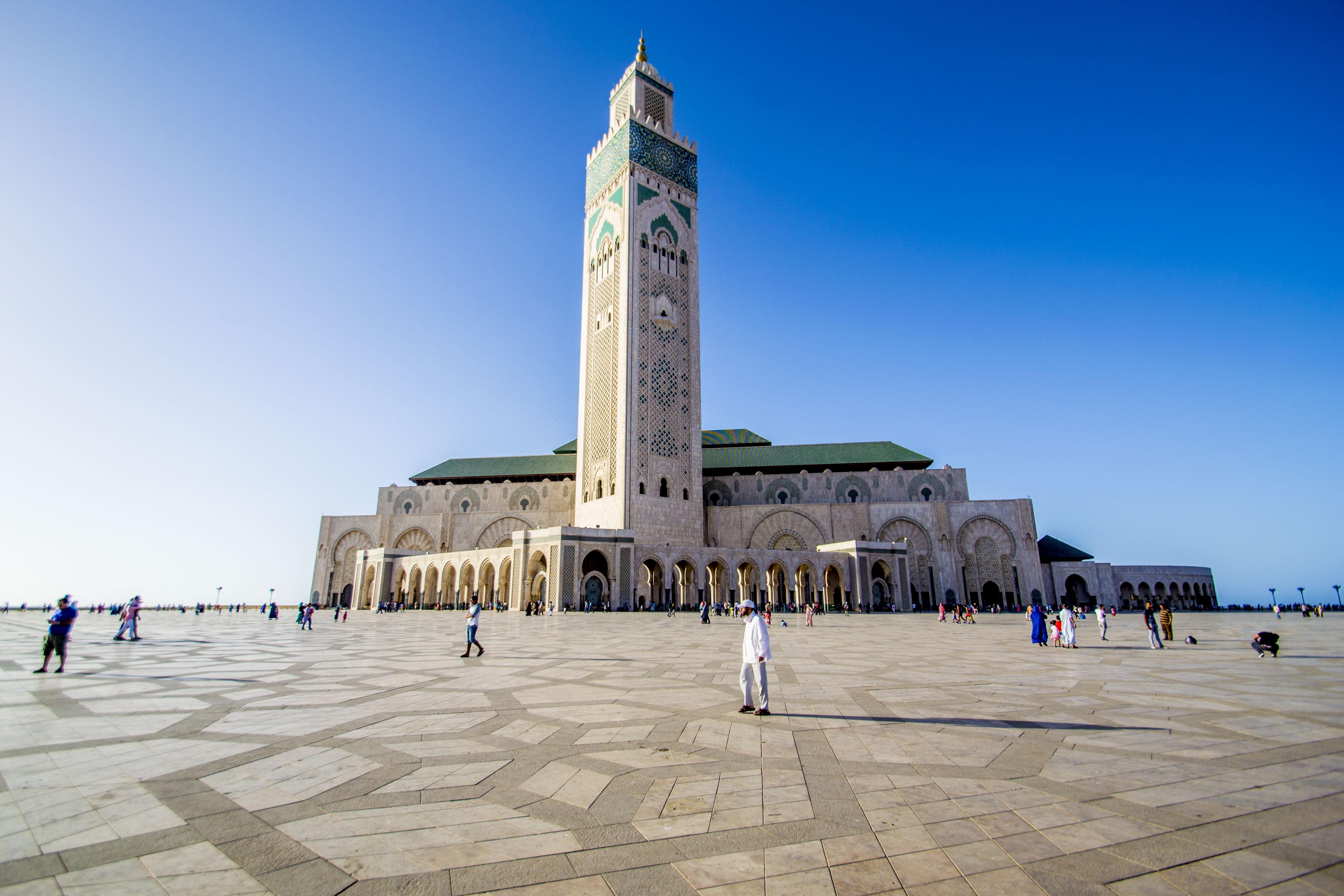 марокко мечеть фото плывете лодке