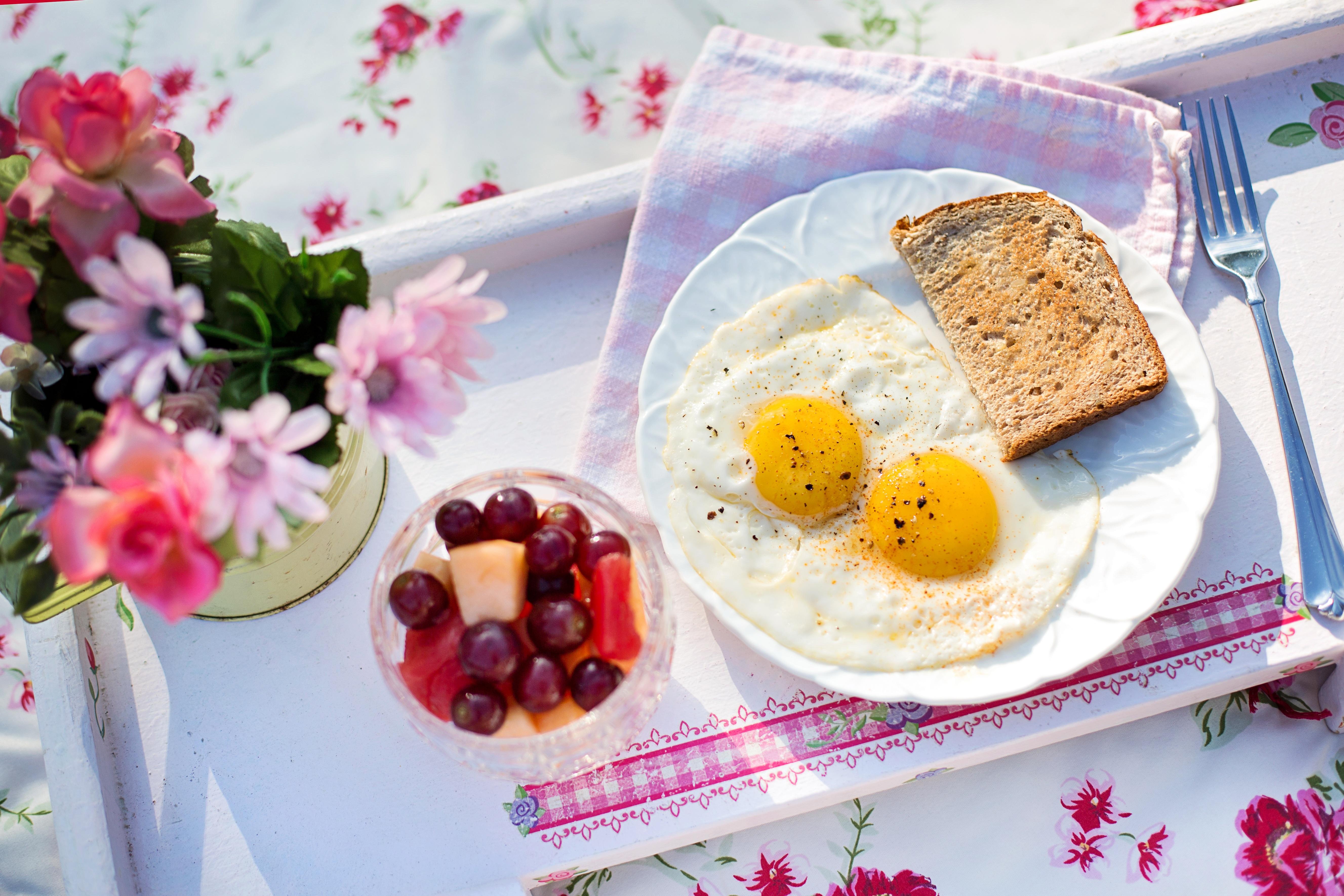 С добрым утром картинки с едой на тарелке прикольные