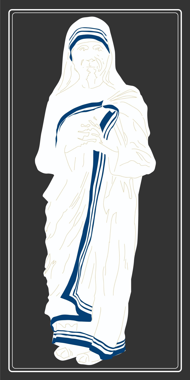 Gambar Sketsa Gambar Ilustrasi Santo Indian Bebas
