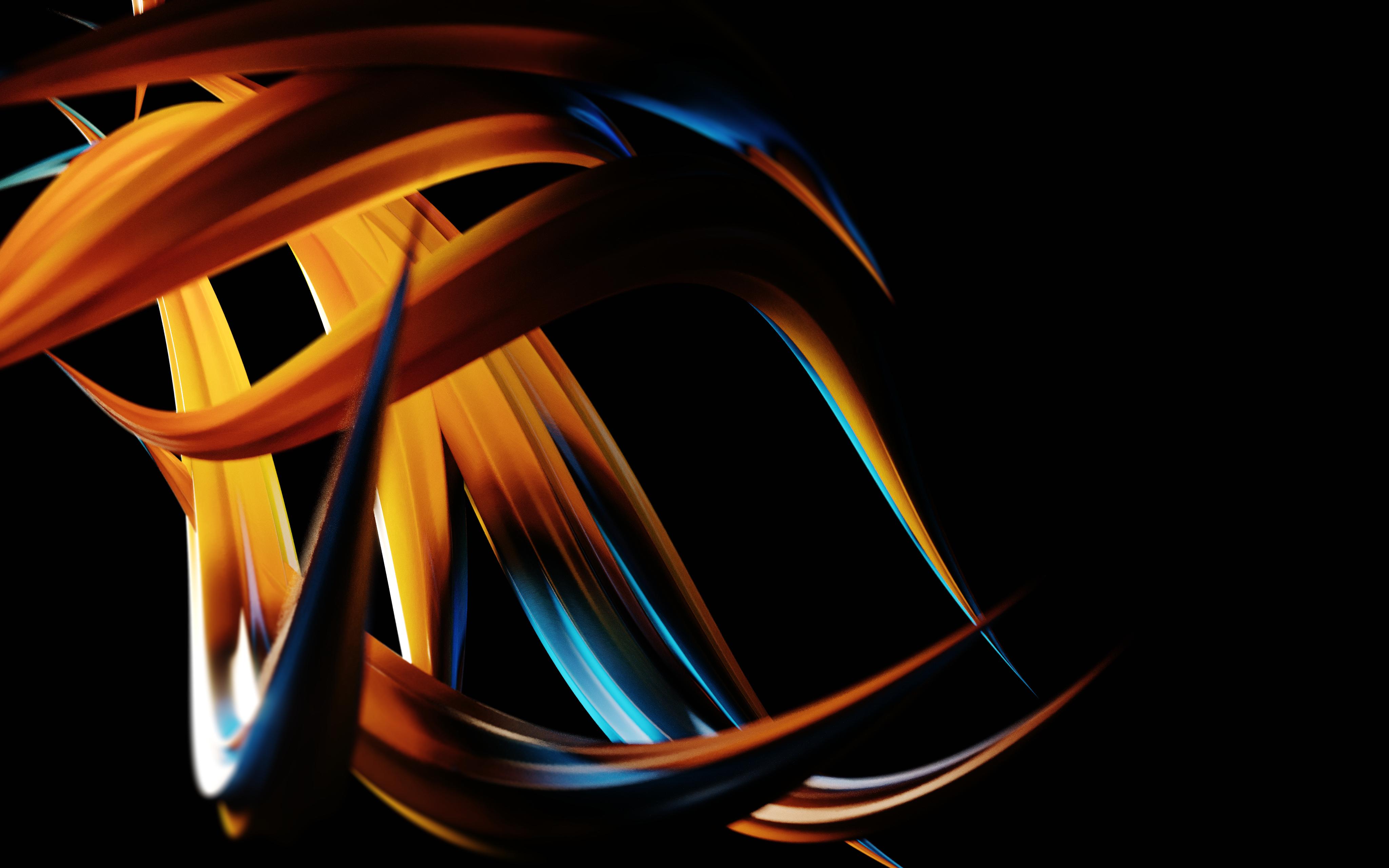 Motion Graphics Orange Light Computer Wallpaper Darkness Line Font Public Domain