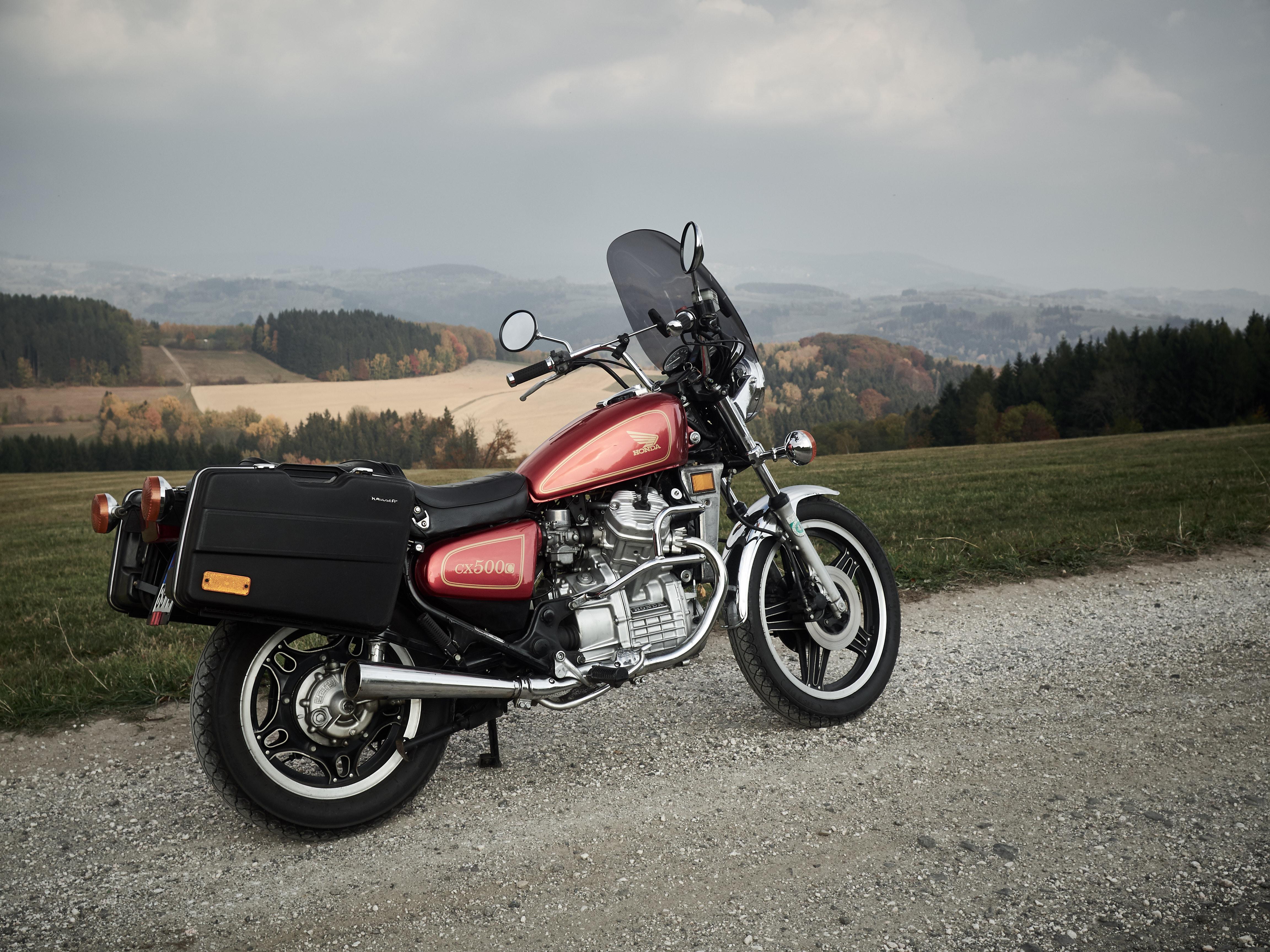 Darmowe Zdjęcia Motocykl Cx500 Zwyczaj Krauser Jesień
