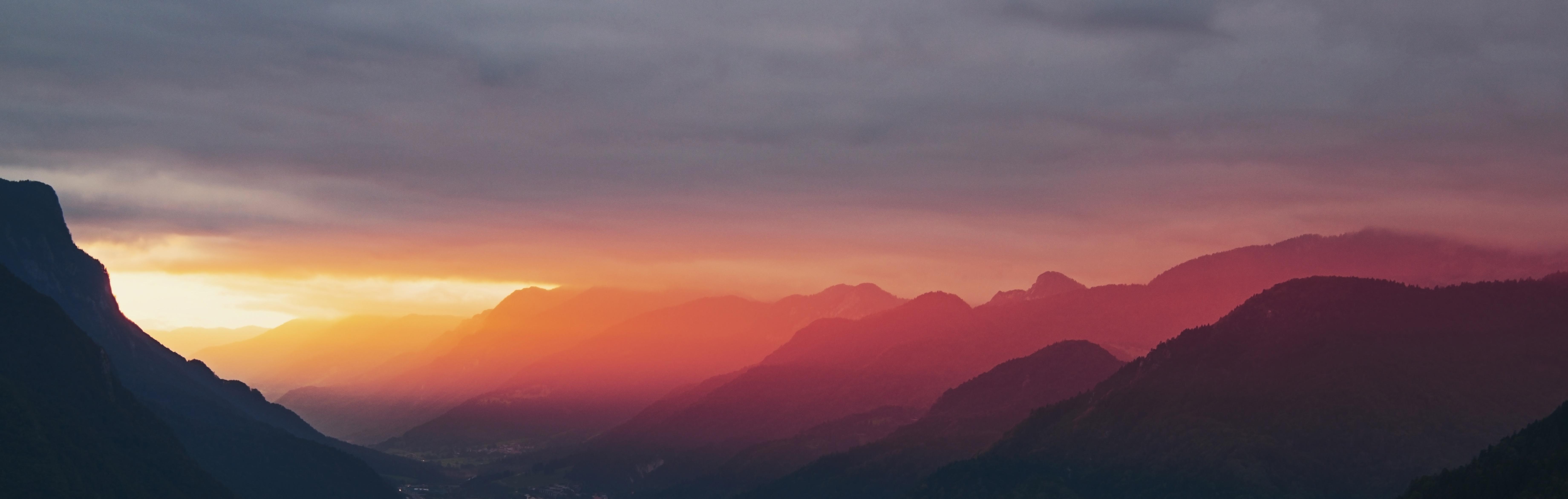 free images cloud sunrise sunset dawn mountain range